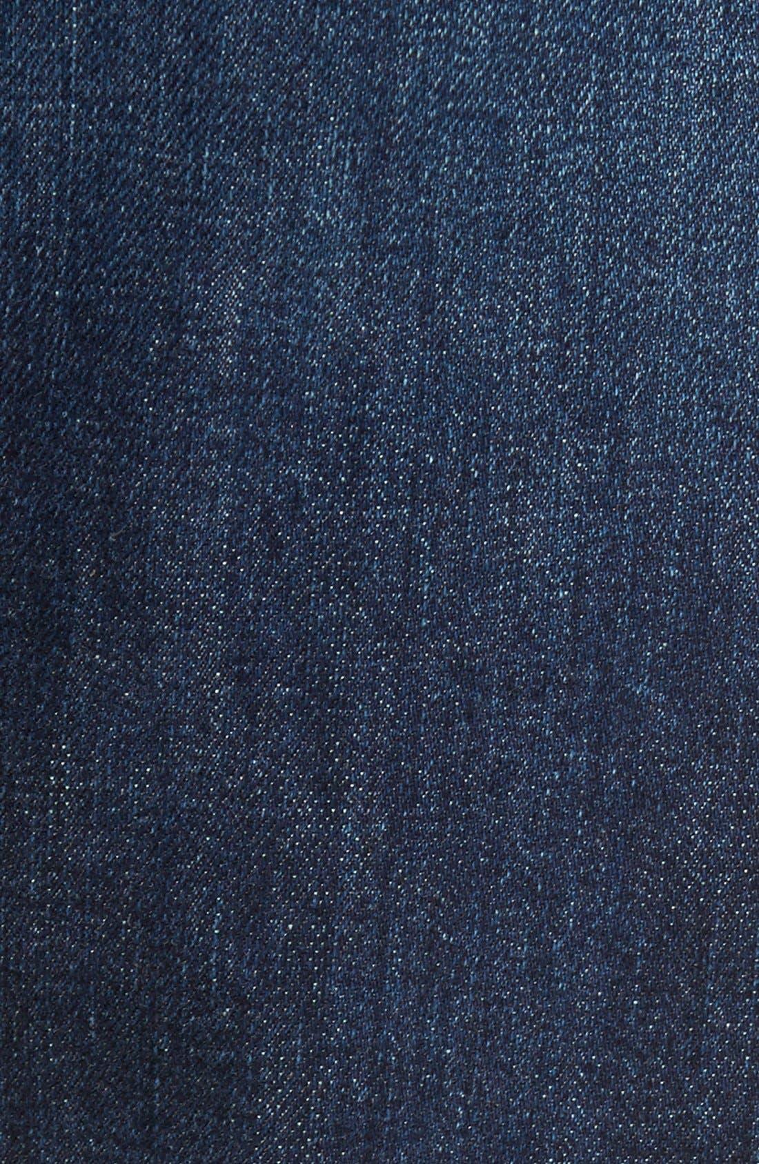 Brit Straight Leg Jeans,                             Alternate thumbnail 4, color,                             404