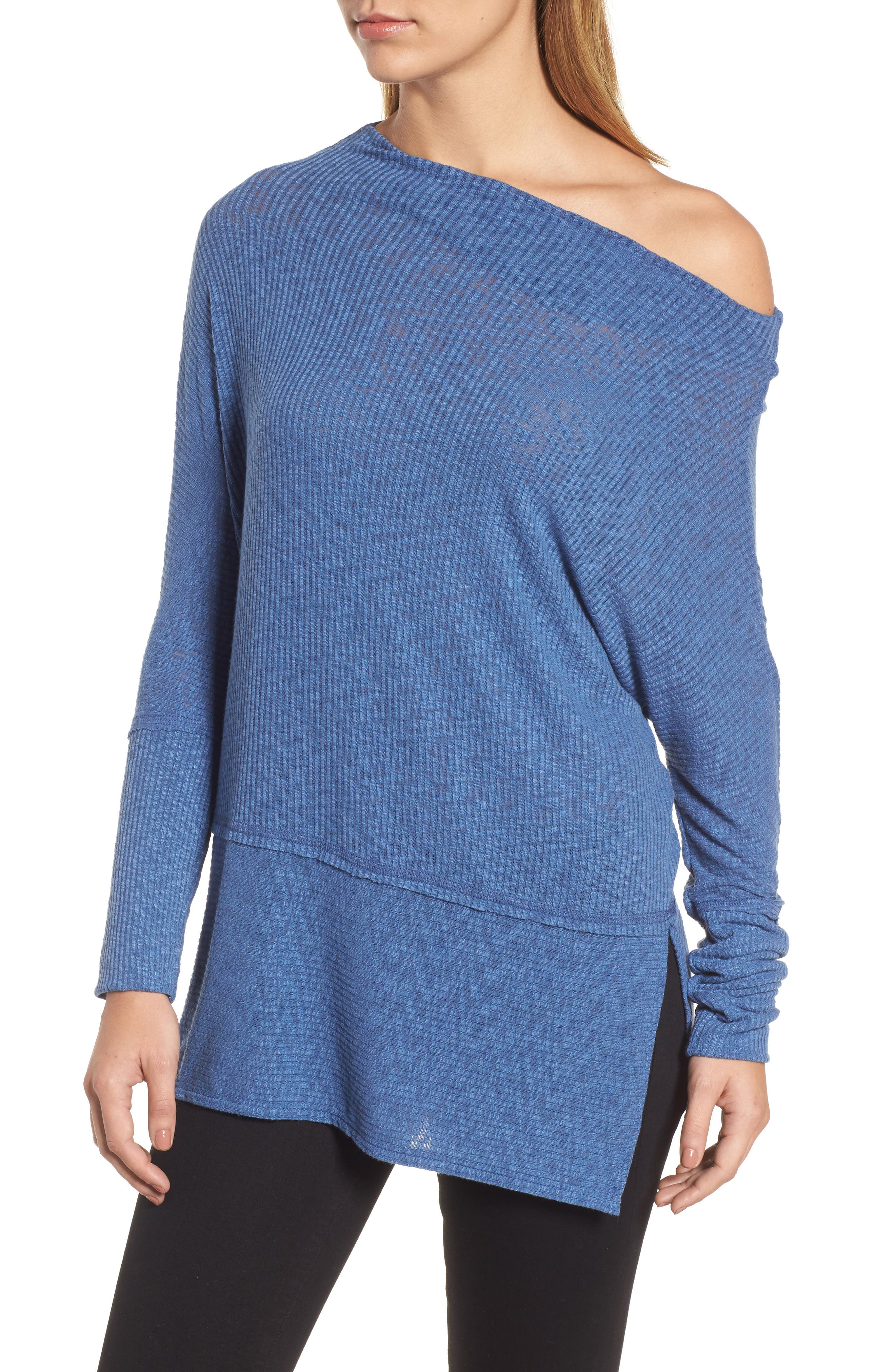 Convertible Wide Neck Top,                             Alternate thumbnail 19, color,