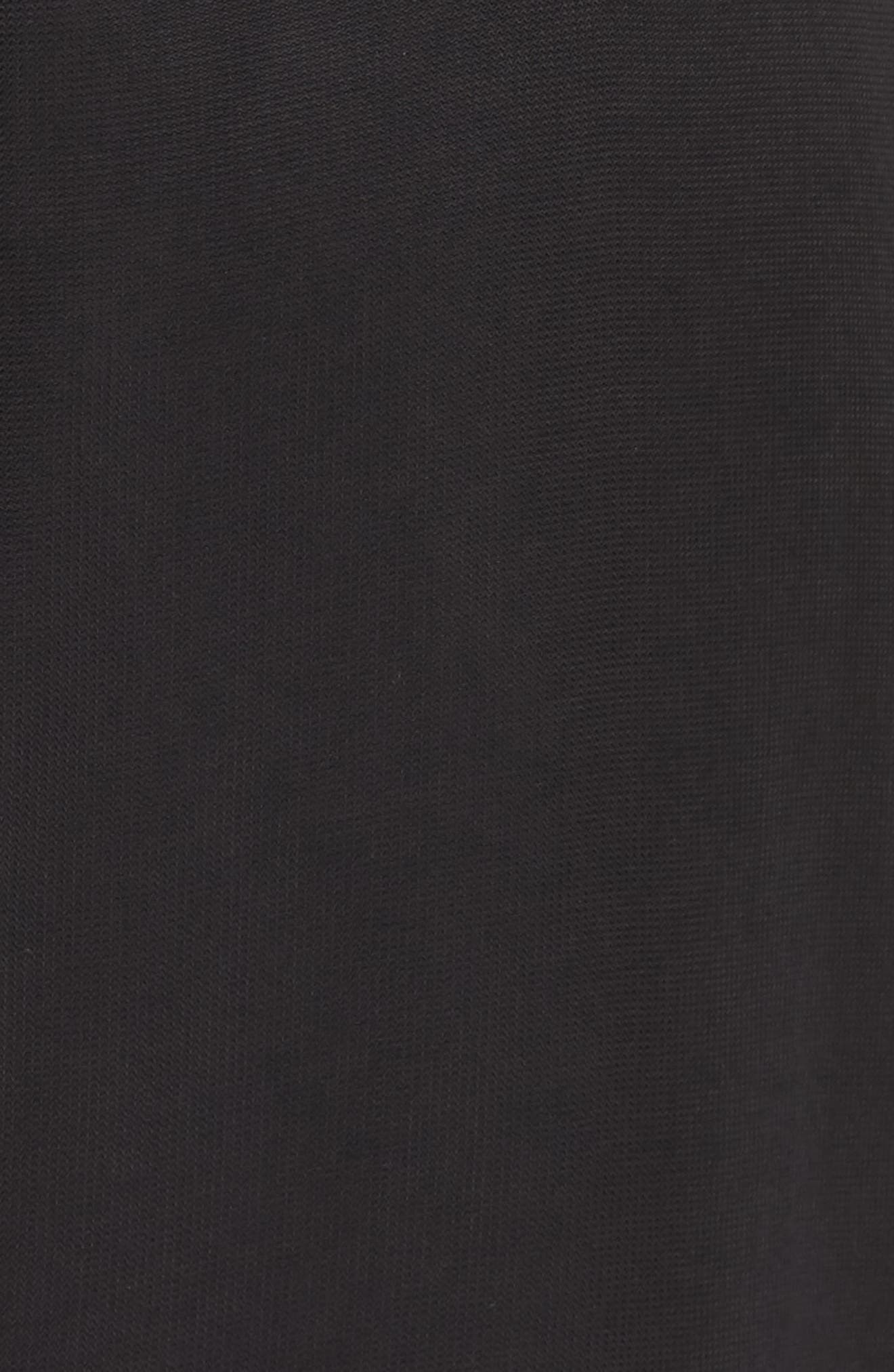 Mira Ruffle Minidress,                             Alternate thumbnail 5, color,                             001