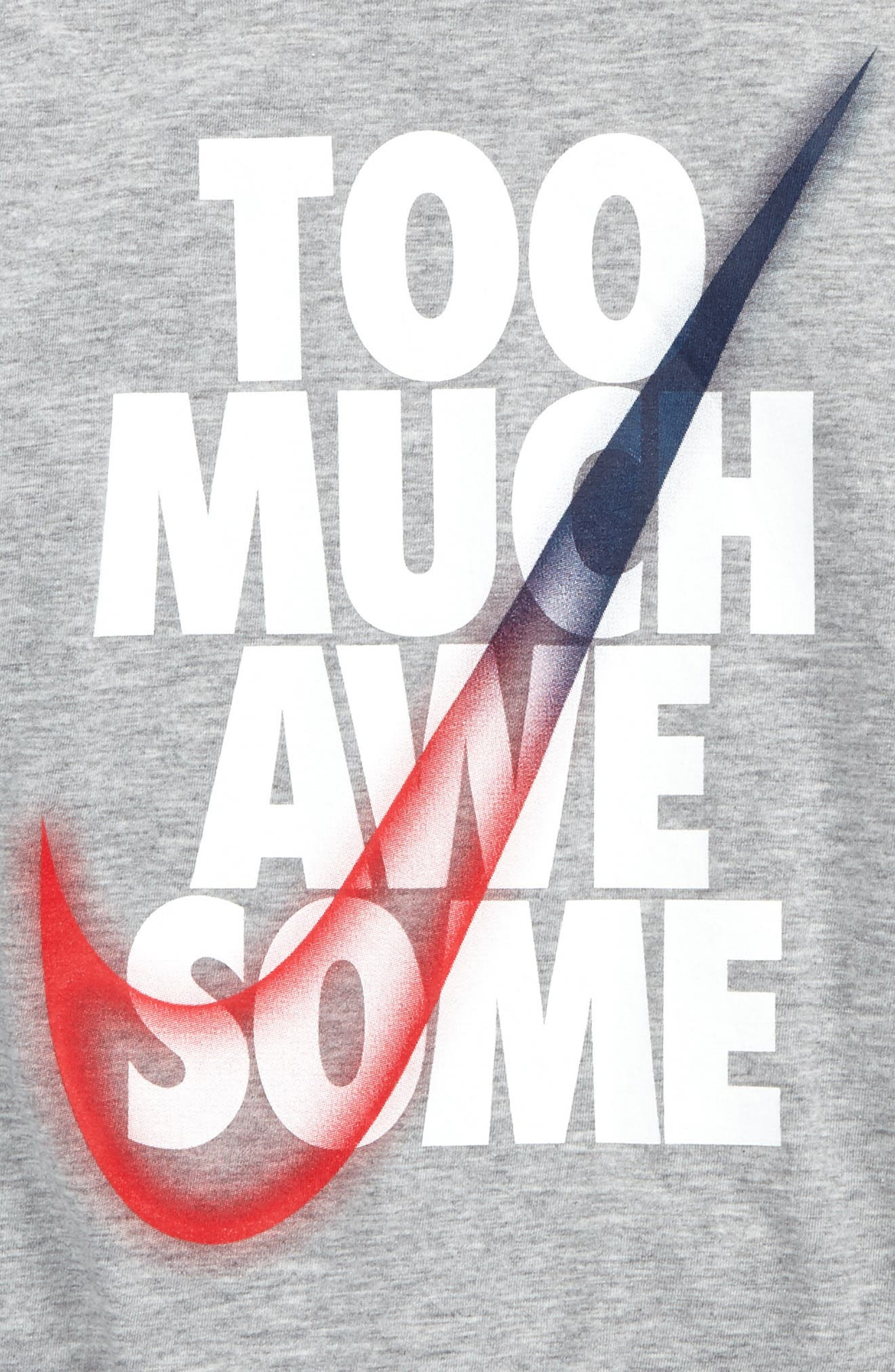 Too Much Awesome Graphic T-Shirt,                             Alternate thumbnail 4, color,