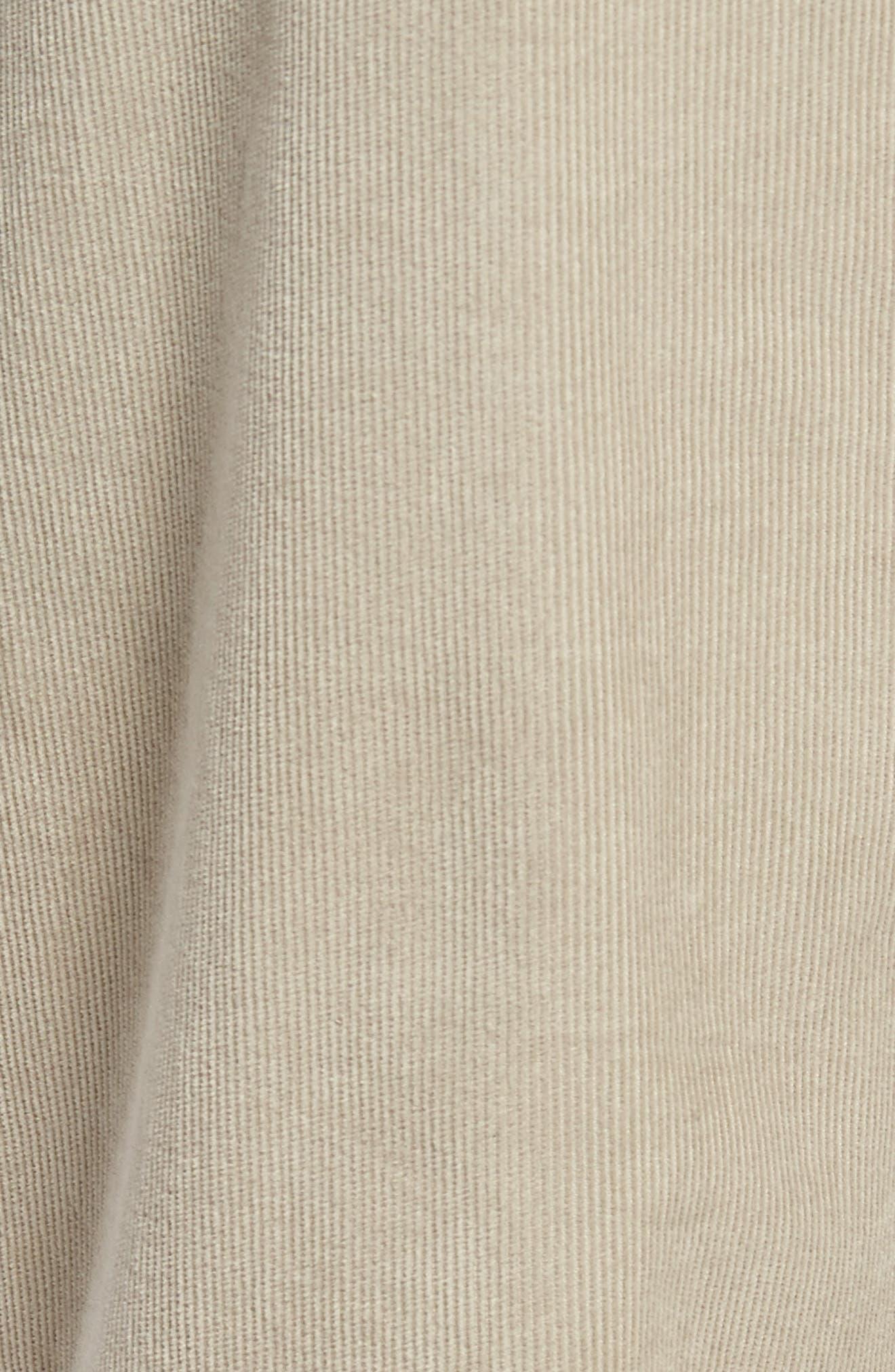 Redonda Stretch Corduroy Trousers,                             Alternate thumbnail 5, color,                             252