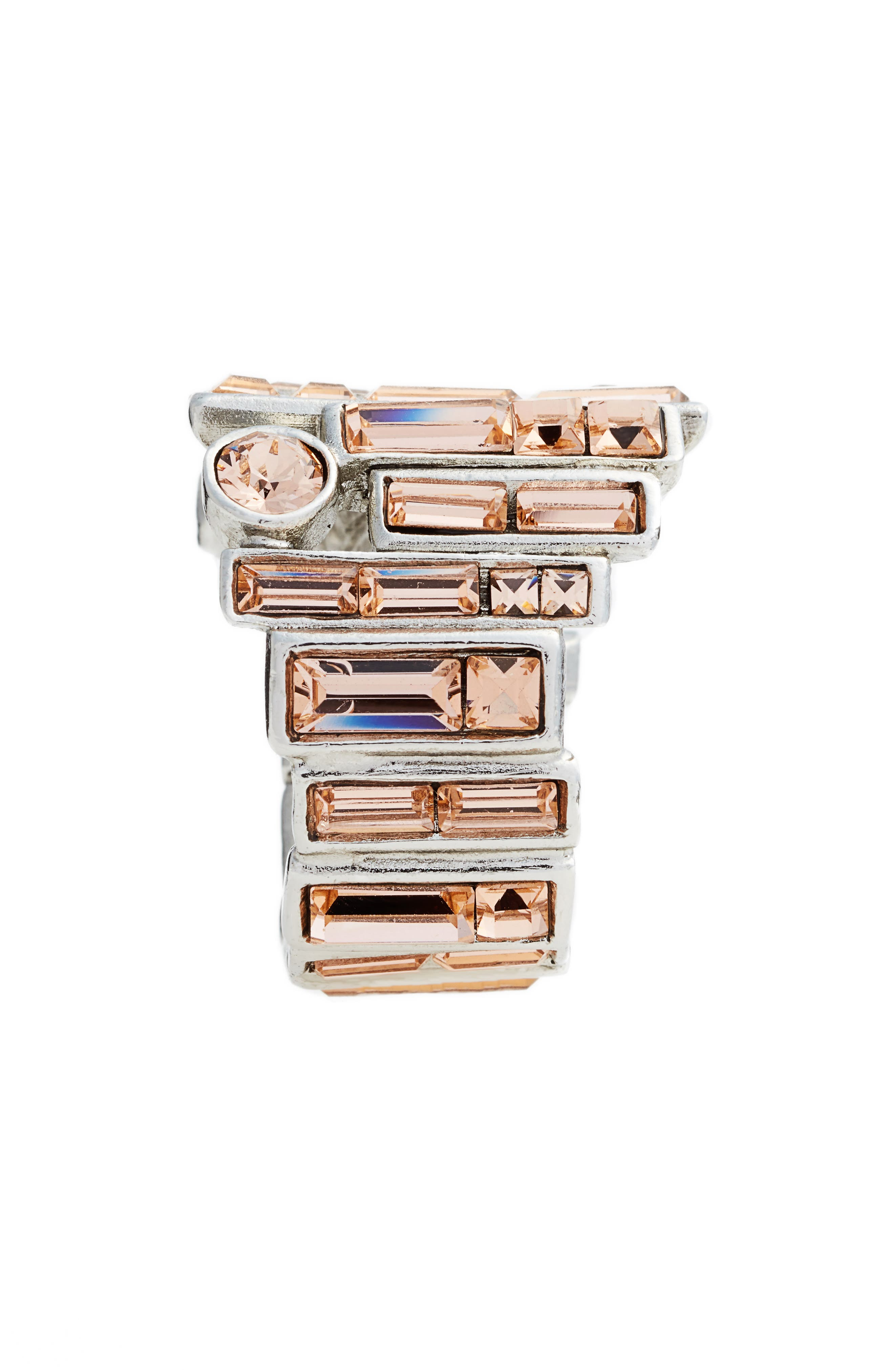Stacked Baguette Ring,                             Alternate thumbnail 2, color,                             650