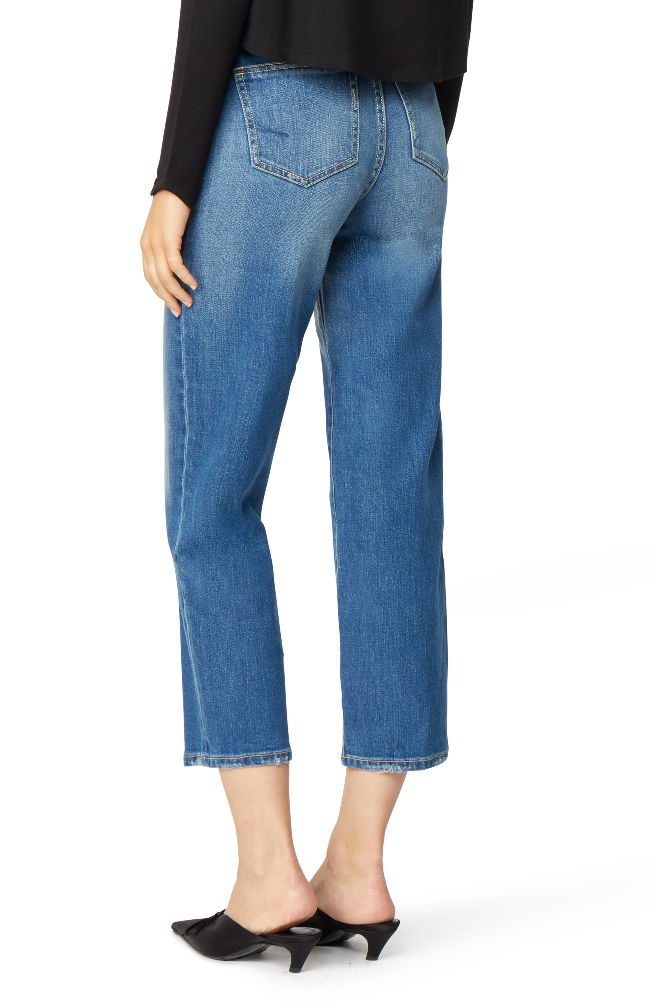 Haven Super High Rise Straight Leg Jeans,                             Alternate thumbnail 2, color,                             IMPERIAL