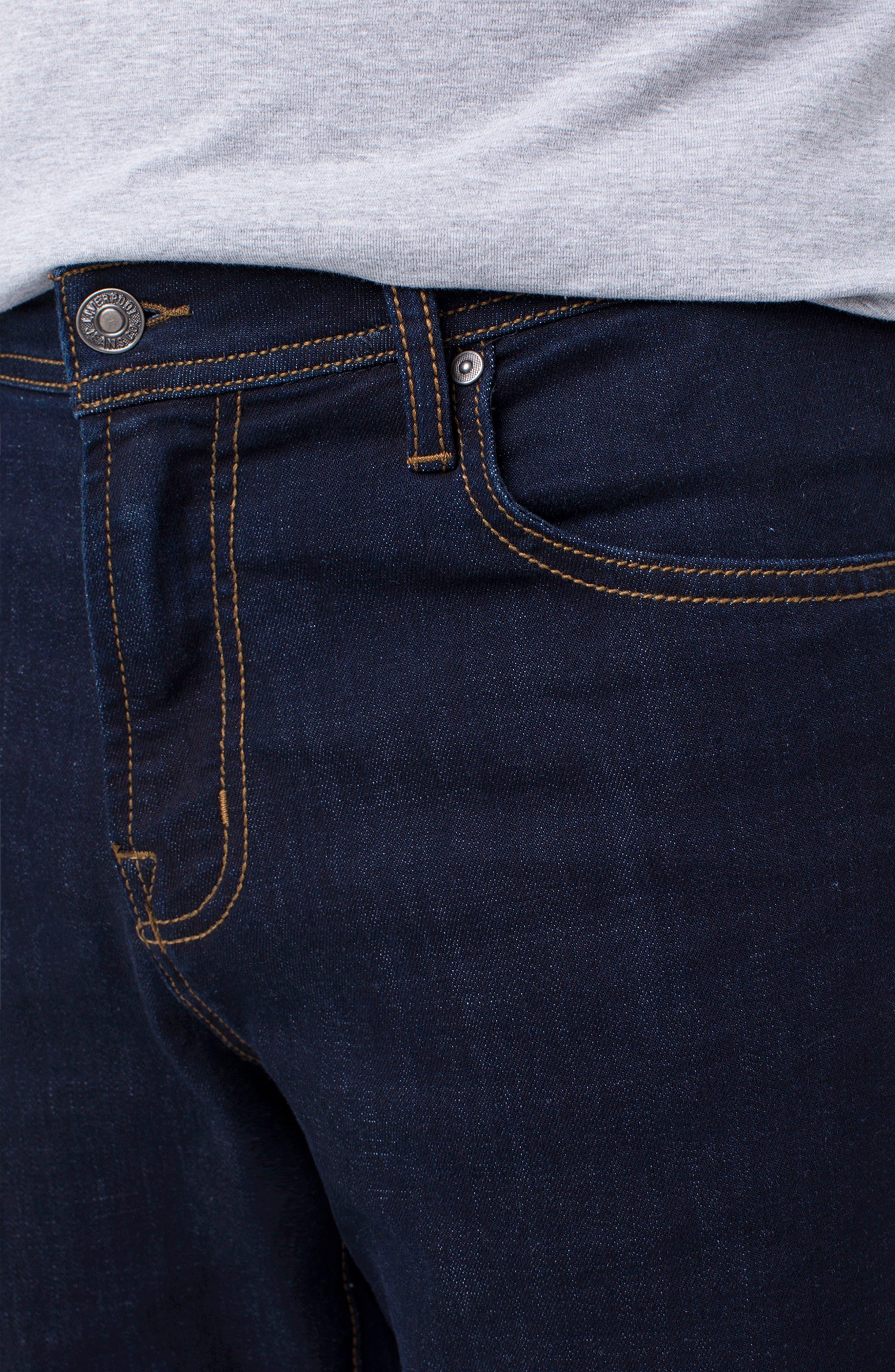 Kingston Slim Straight Leg Jeans,                             Alternate thumbnail 3, color,                             MODERN RINSE