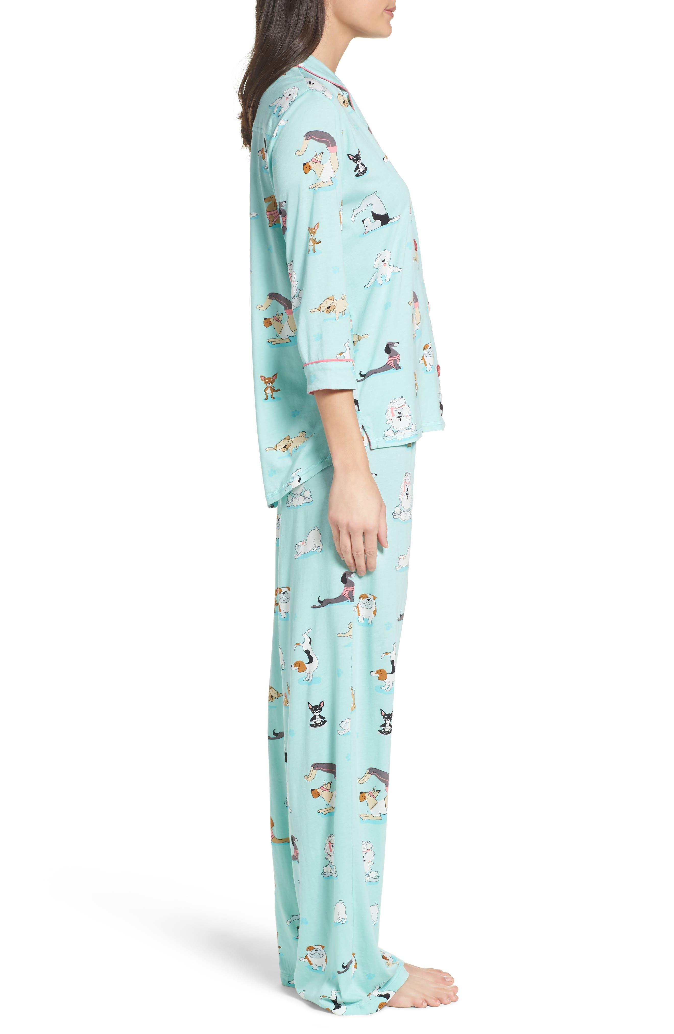 Playful Print Pajamas & Eye Mask,                             Alternate thumbnail 15, color,