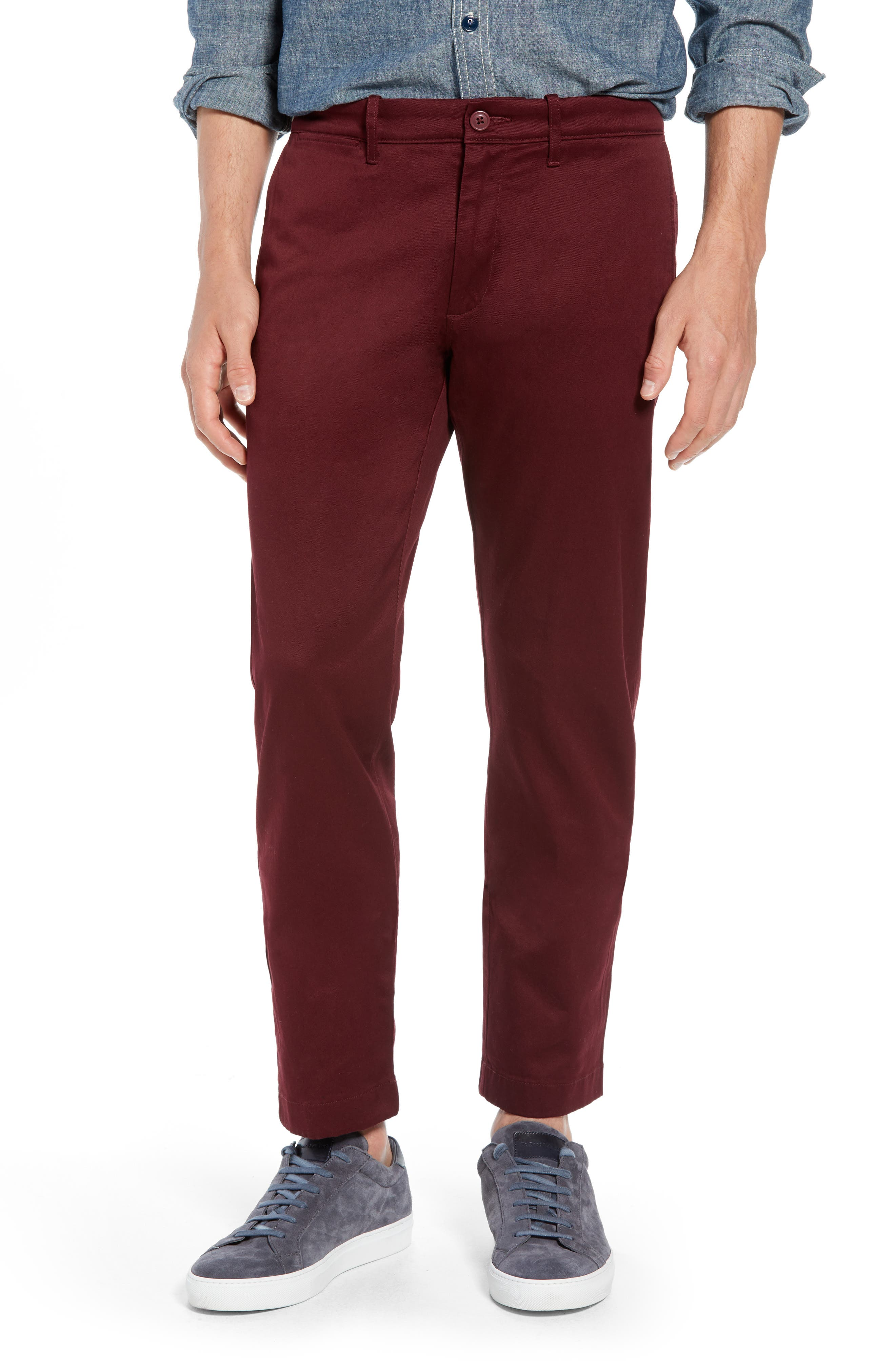 484 Slim Fit Stretch Chino Pants,                             Main thumbnail 12, color,