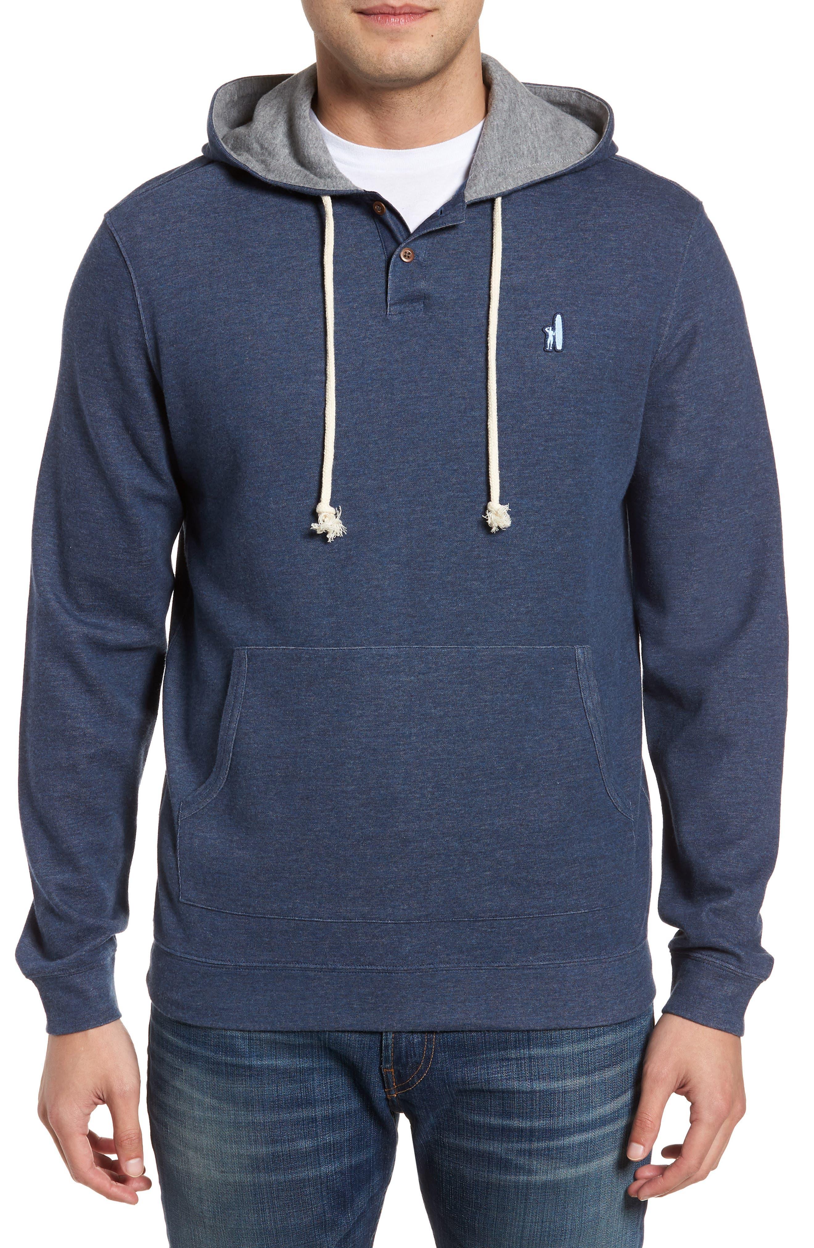Layton Regular Fit Pullover Hoodie,                         Main,                         color, BLAZER