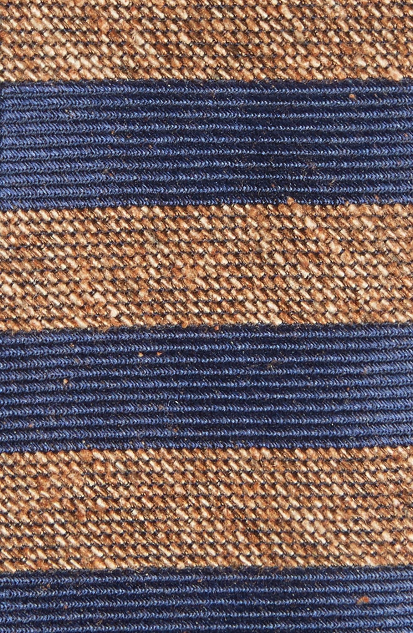 Meter Stripe Nep Silk Tie,                             Alternate thumbnail 2, color,                             200