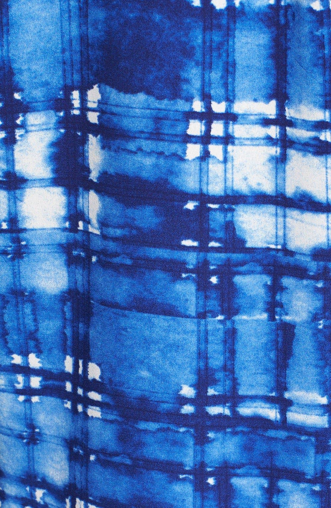 Pleat Back Sleeveless Split Neck Blouse,                             Alternate thumbnail 268, color,