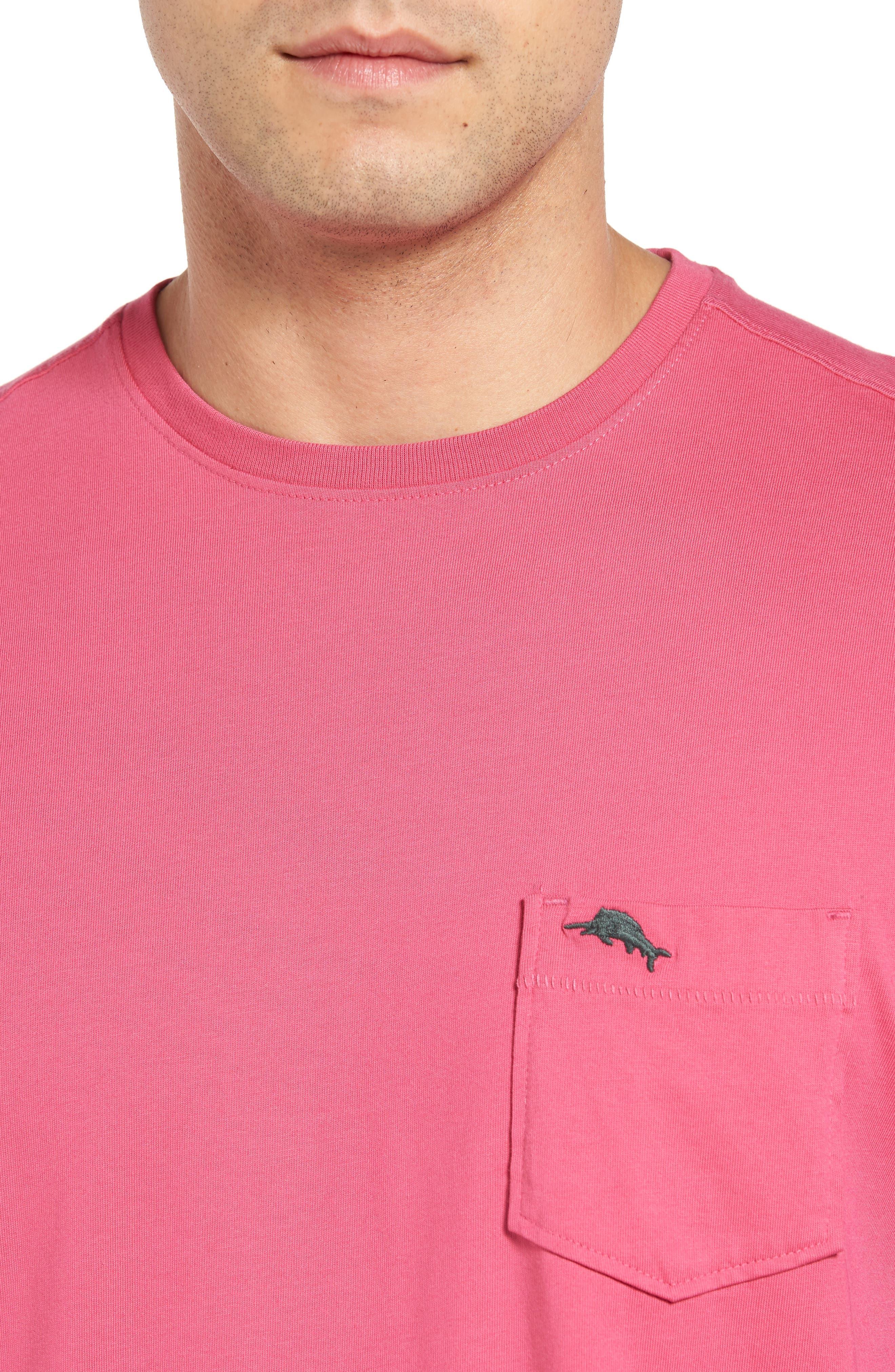 New Bali Sky Pima Cotton Pocket T-Shirt,                             Alternate thumbnail 113, color,