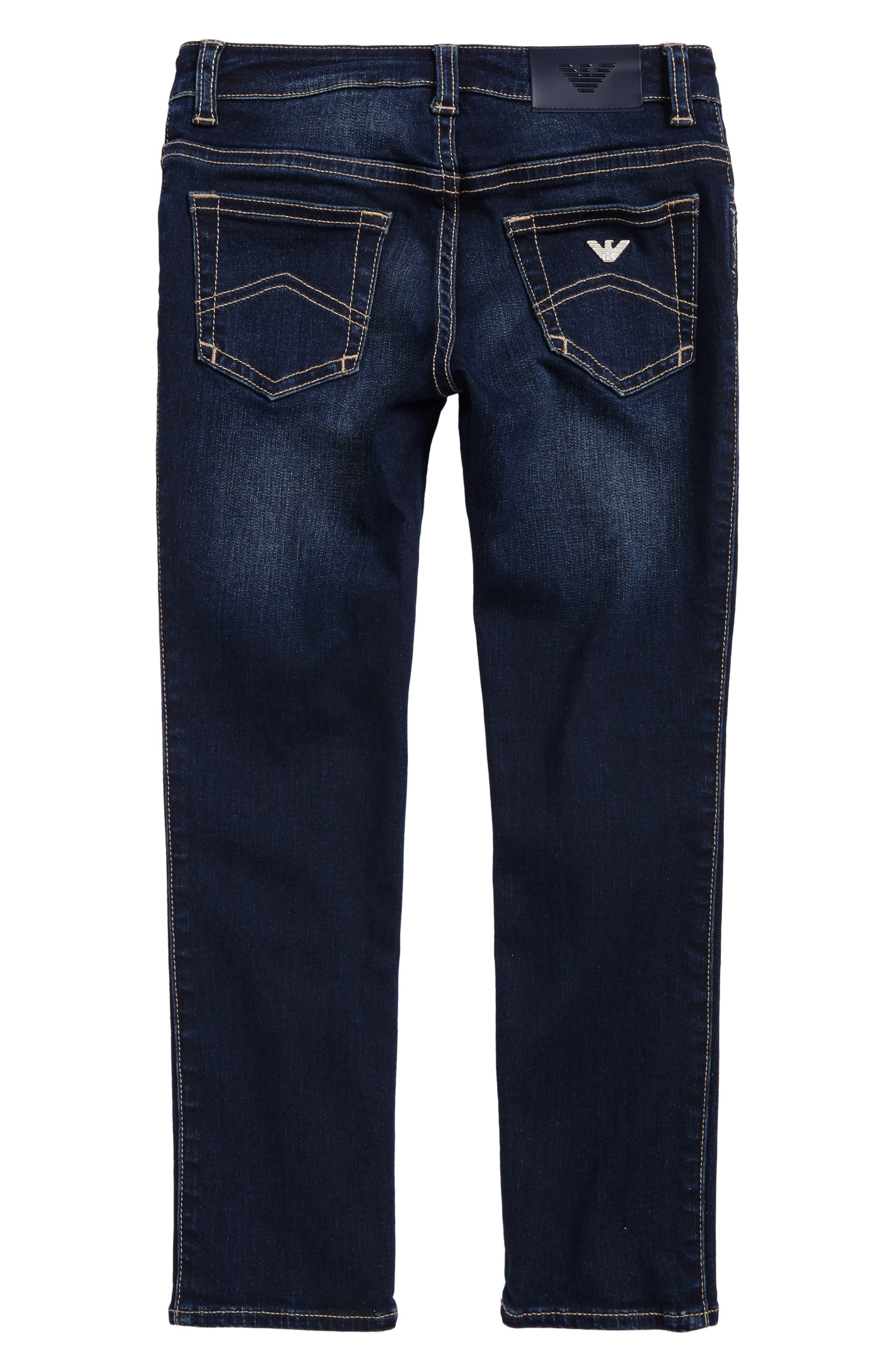 Straight Leg Jeans,                             Alternate thumbnail 2, color,                             424