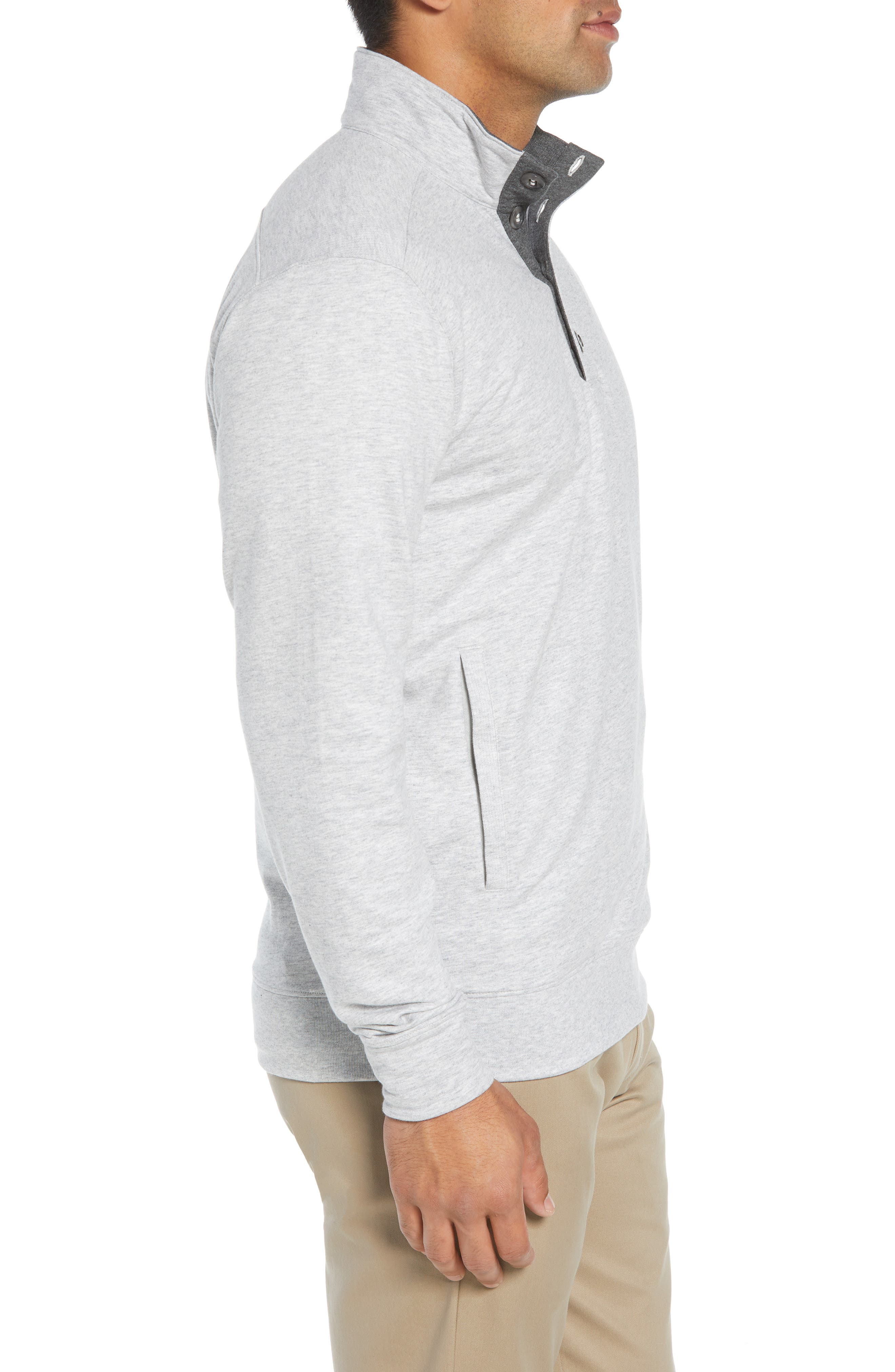 Clubhouse Pullover,                             Alternate thumbnail 3, color,                             GREY