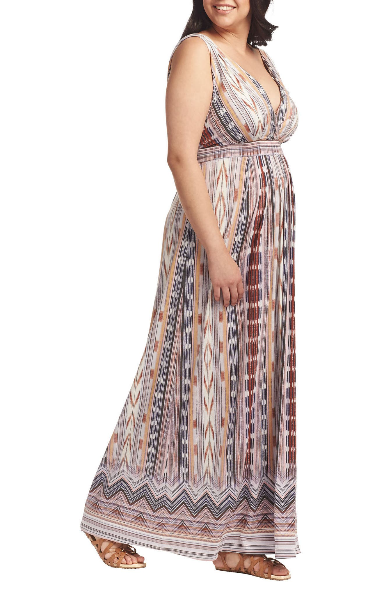 Chloe Empire Waist Maxi Dress,                             Alternate thumbnail 57, color,