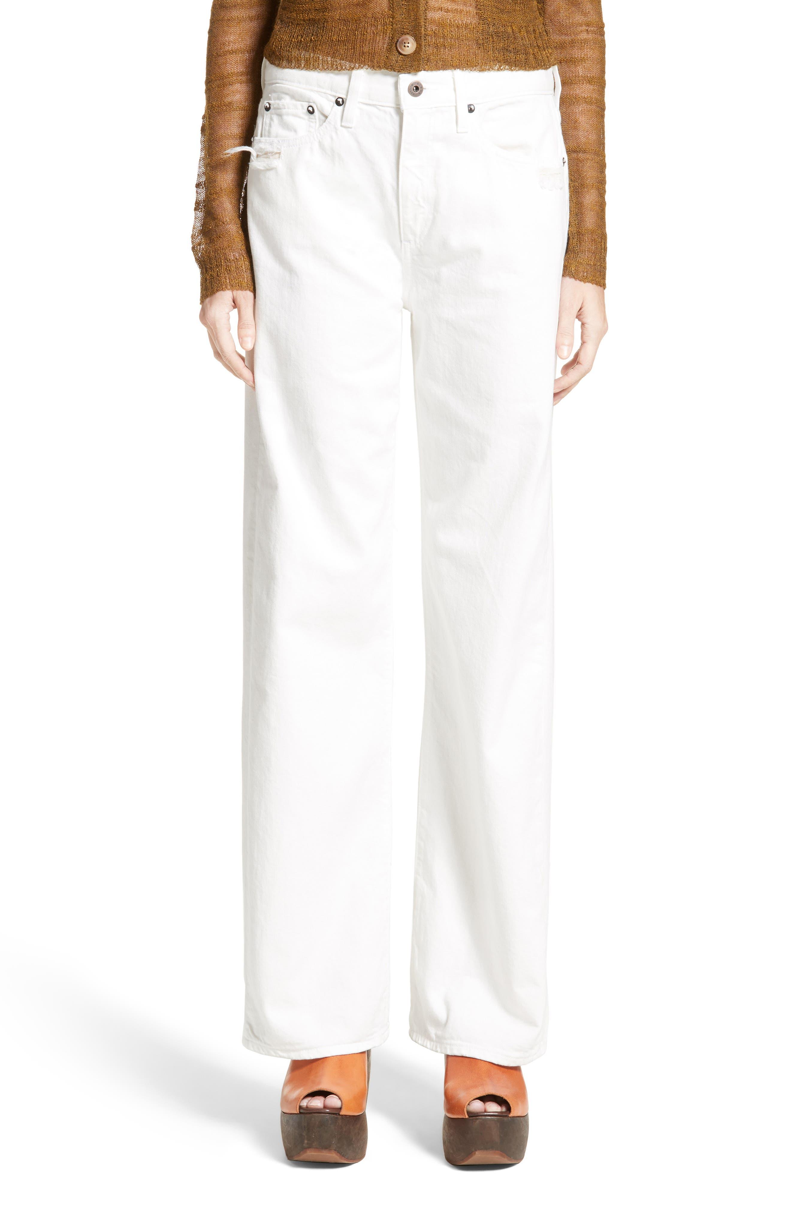 Latta Ankle Jeans,                             Main thumbnail 1, color,                             100