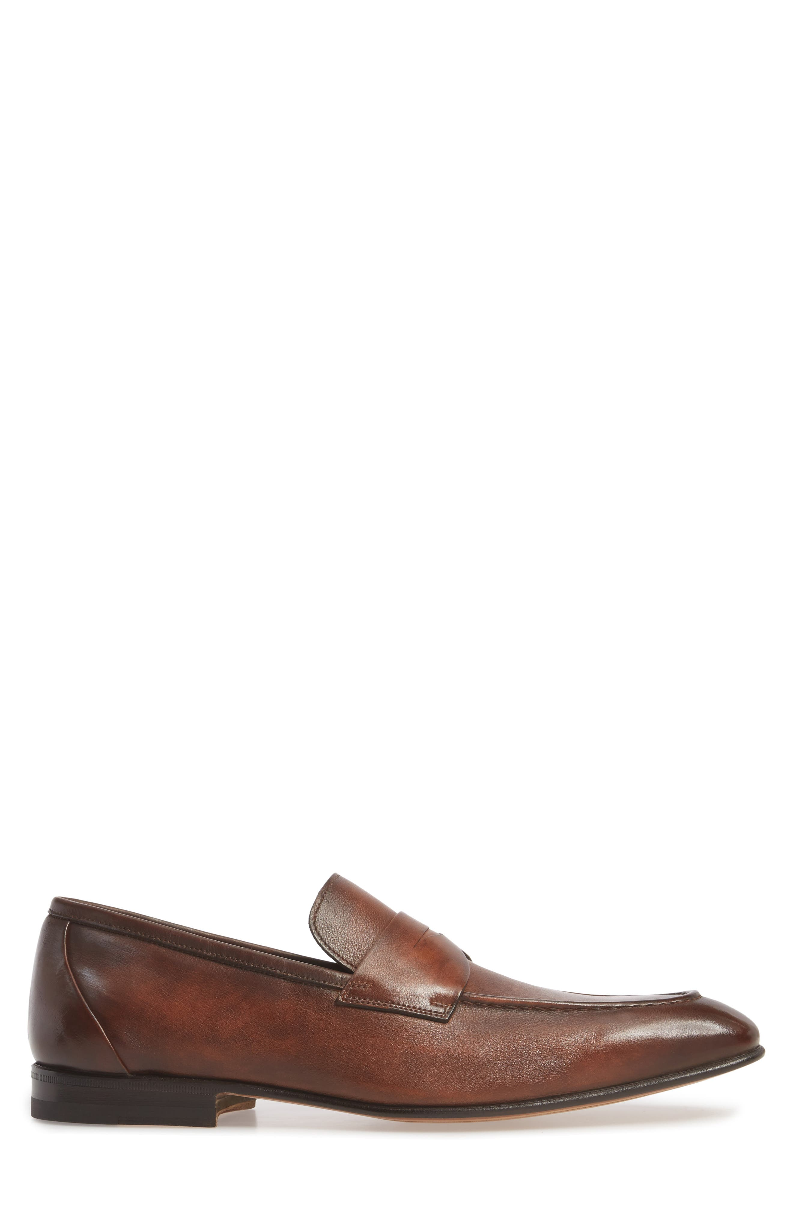Gannon Penny Loafer,                             Alternate thumbnail 3, color,                             TAN