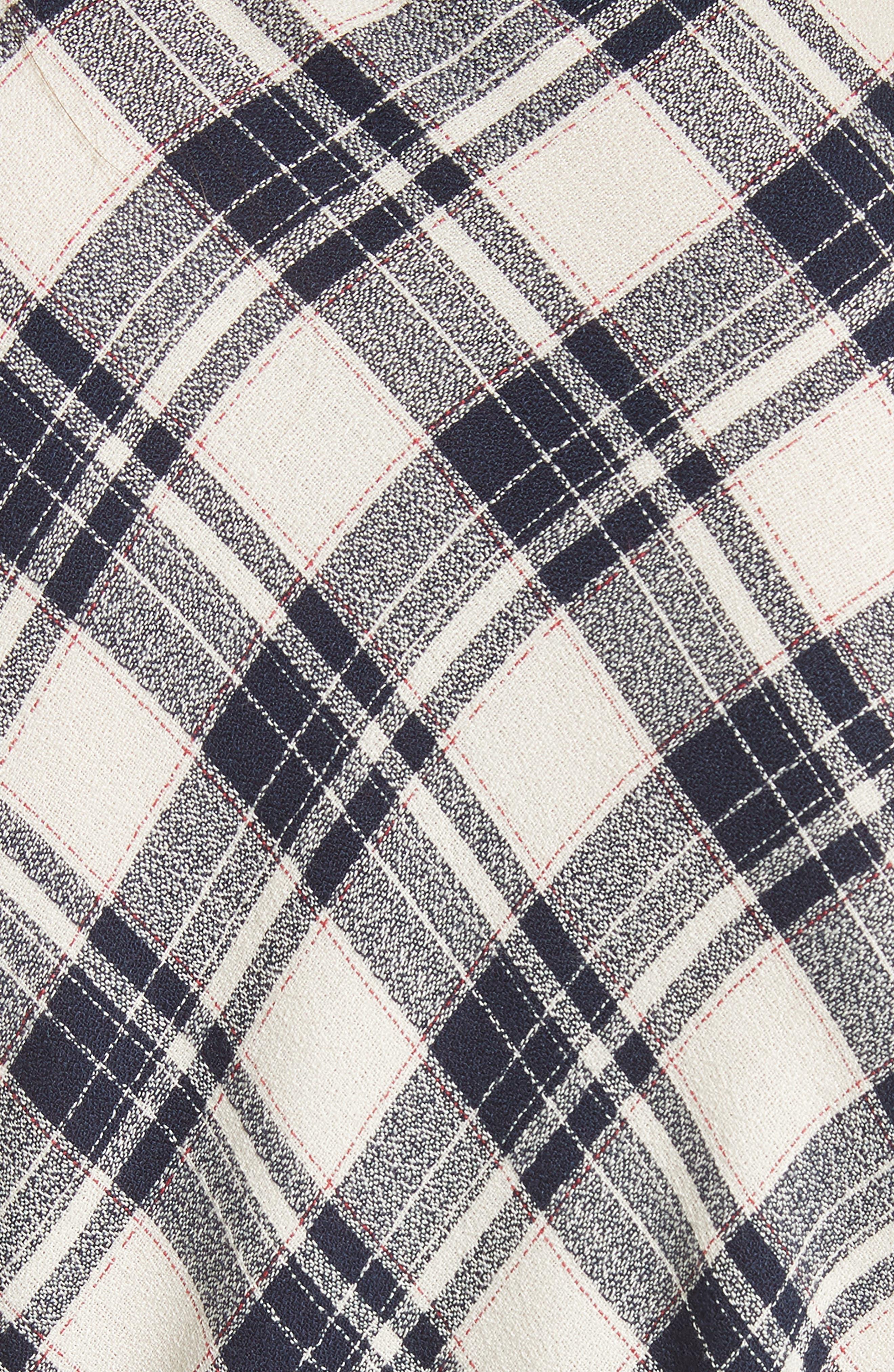 Rowe Asymmetrical Button Dress,                             Alternate thumbnail 5, color,                             417