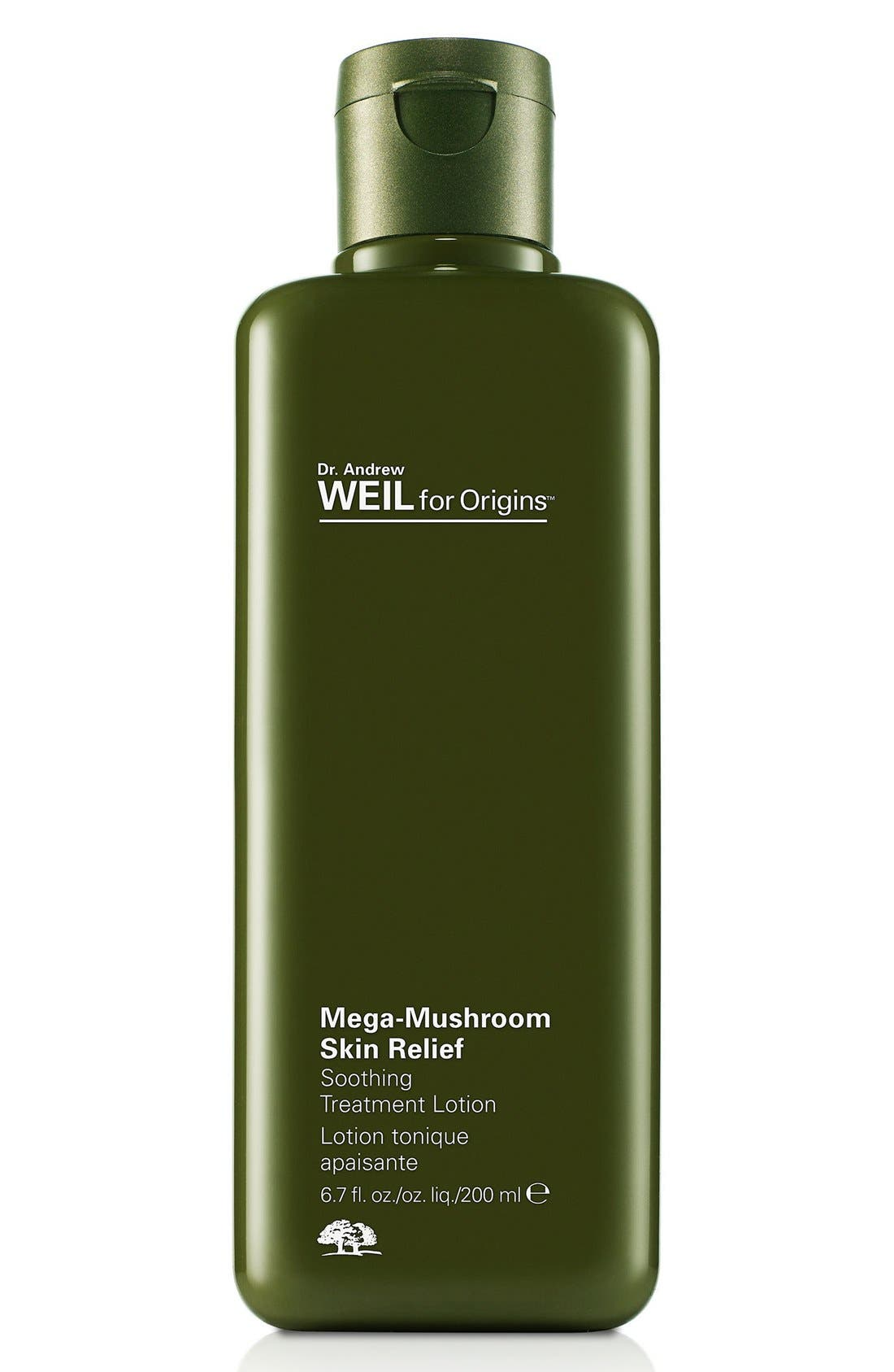 Dr. Andrew Weil for Origins<sup>™</sup> Mega-Mushroom Skin Relief Soothing Treatment Lotion,                             Main thumbnail 1, color,