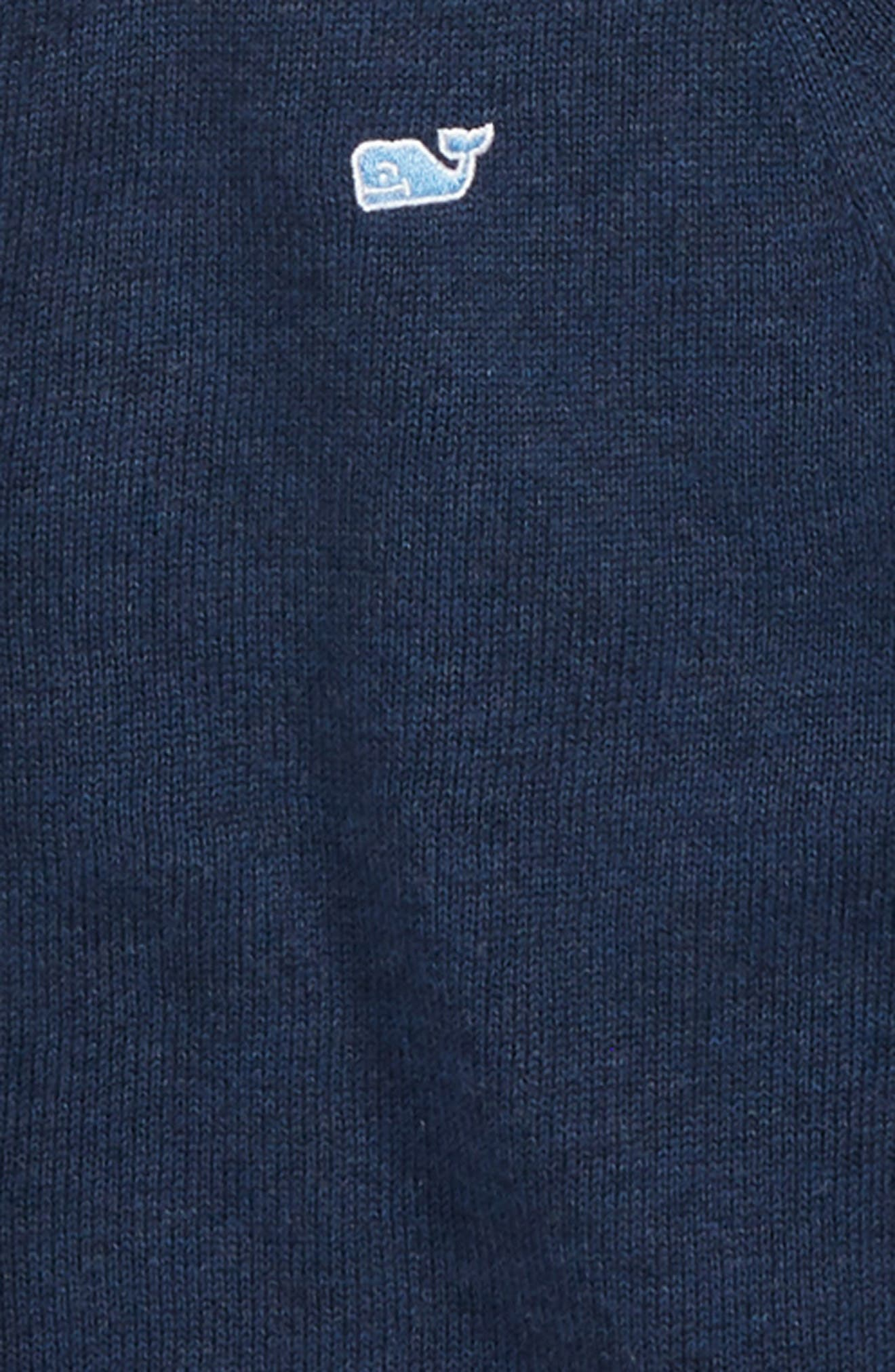Cotton Cardigan,                             Alternate thumbnail 2, color,                             DEEP BAY