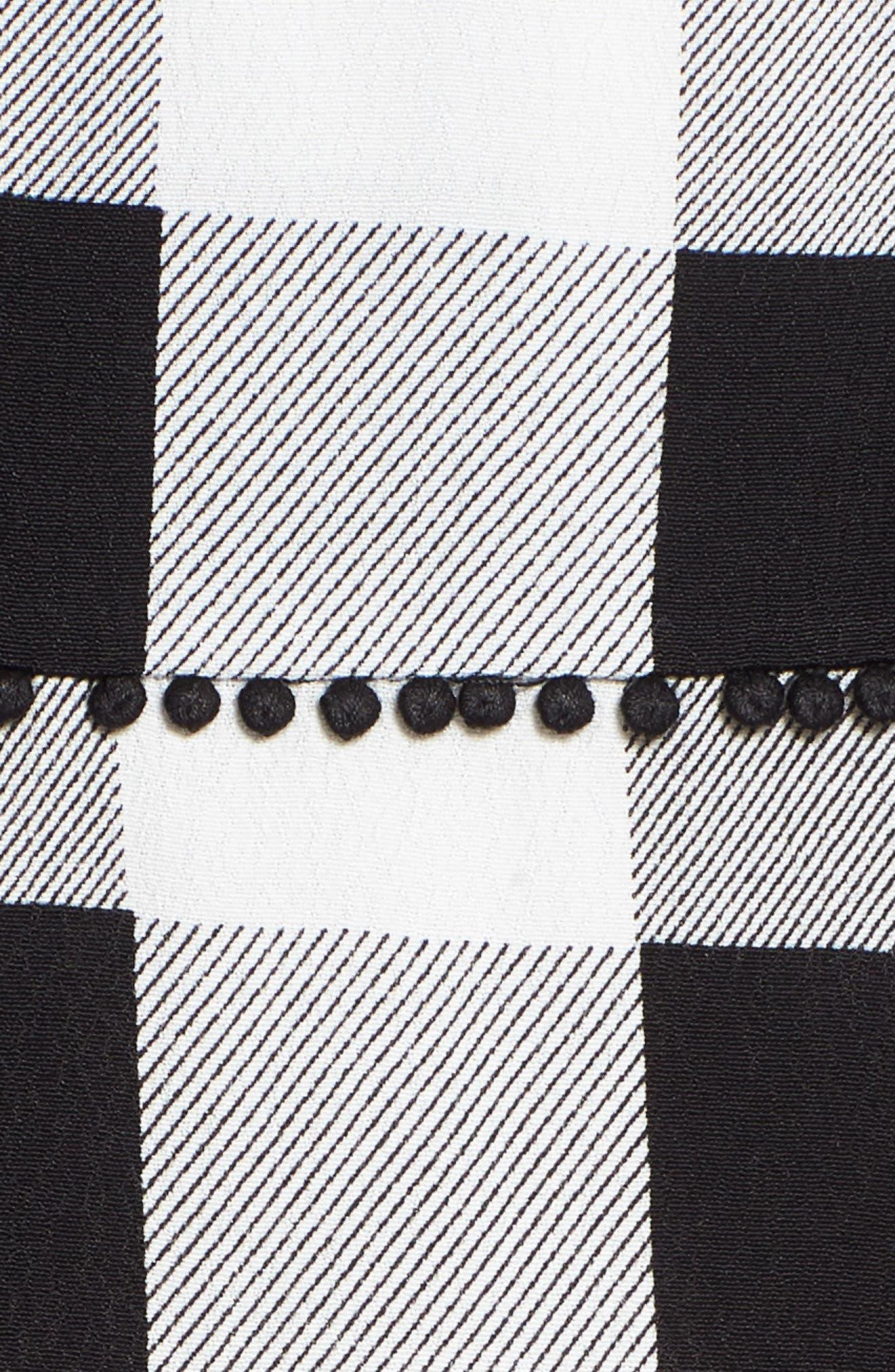 Bell High Waist Miniskirt,                             Alternate thumbnail 5, color,                             002