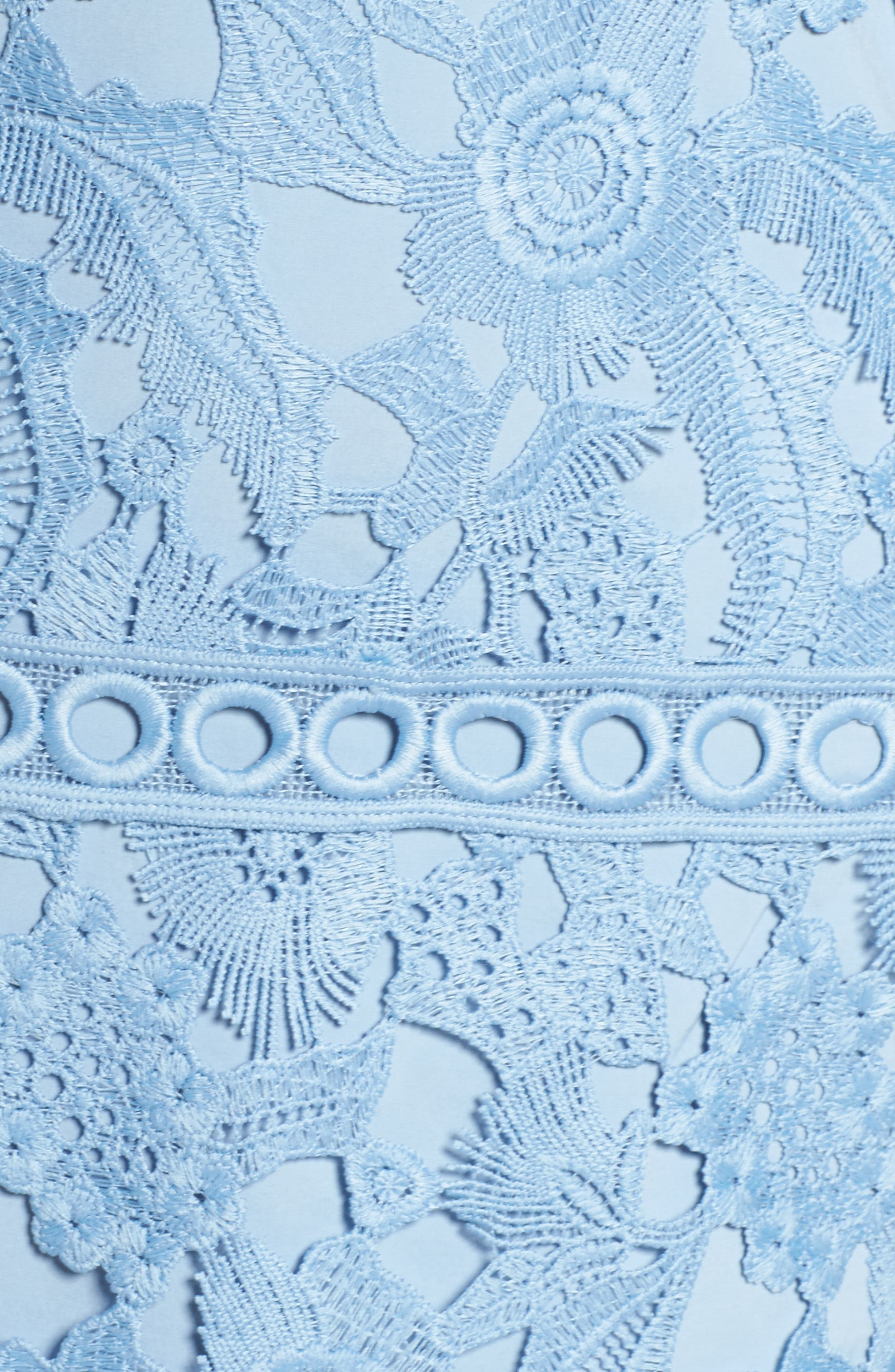 Lace Sheath Dress,                             Alternate thumbnail 6, color,                             435