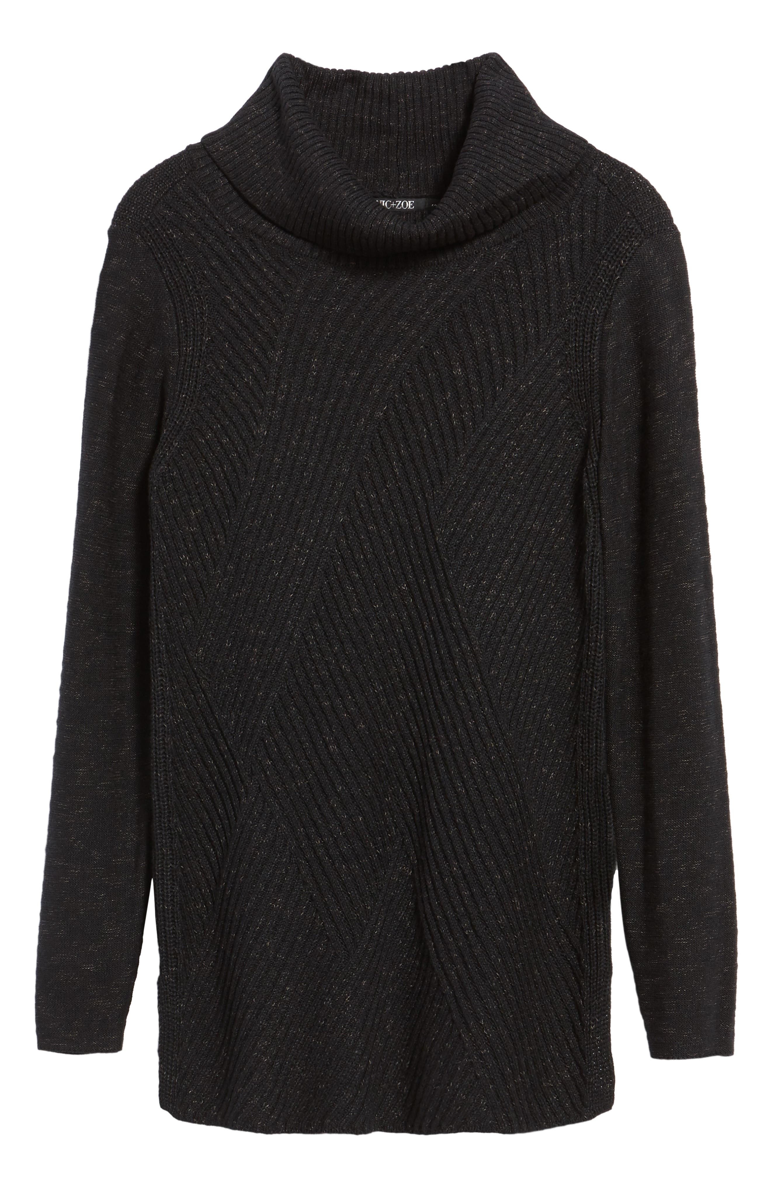North Star Turtleneck Tunic,                             Alternate thumbnail 16, color,