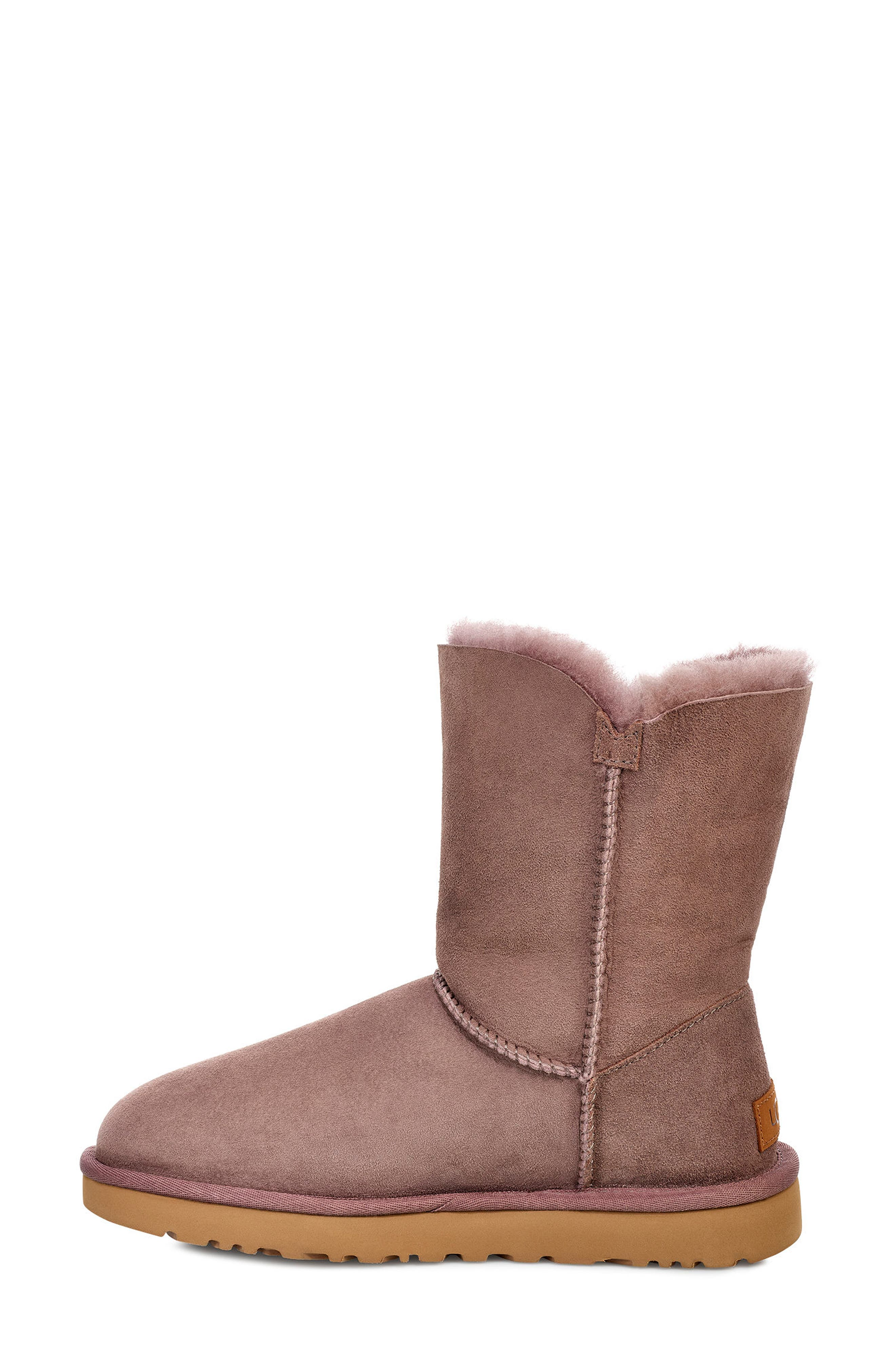 'Bailey Button II' Boot,                             Alternate thumbnail 6, color,                             STORMY GREY SUEDE