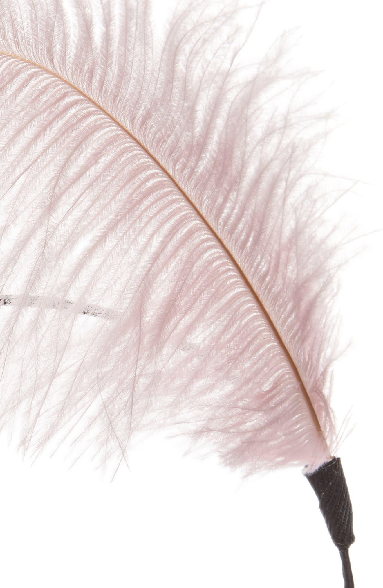 Feather Headband,                             Alternate thumbnail 4, color,