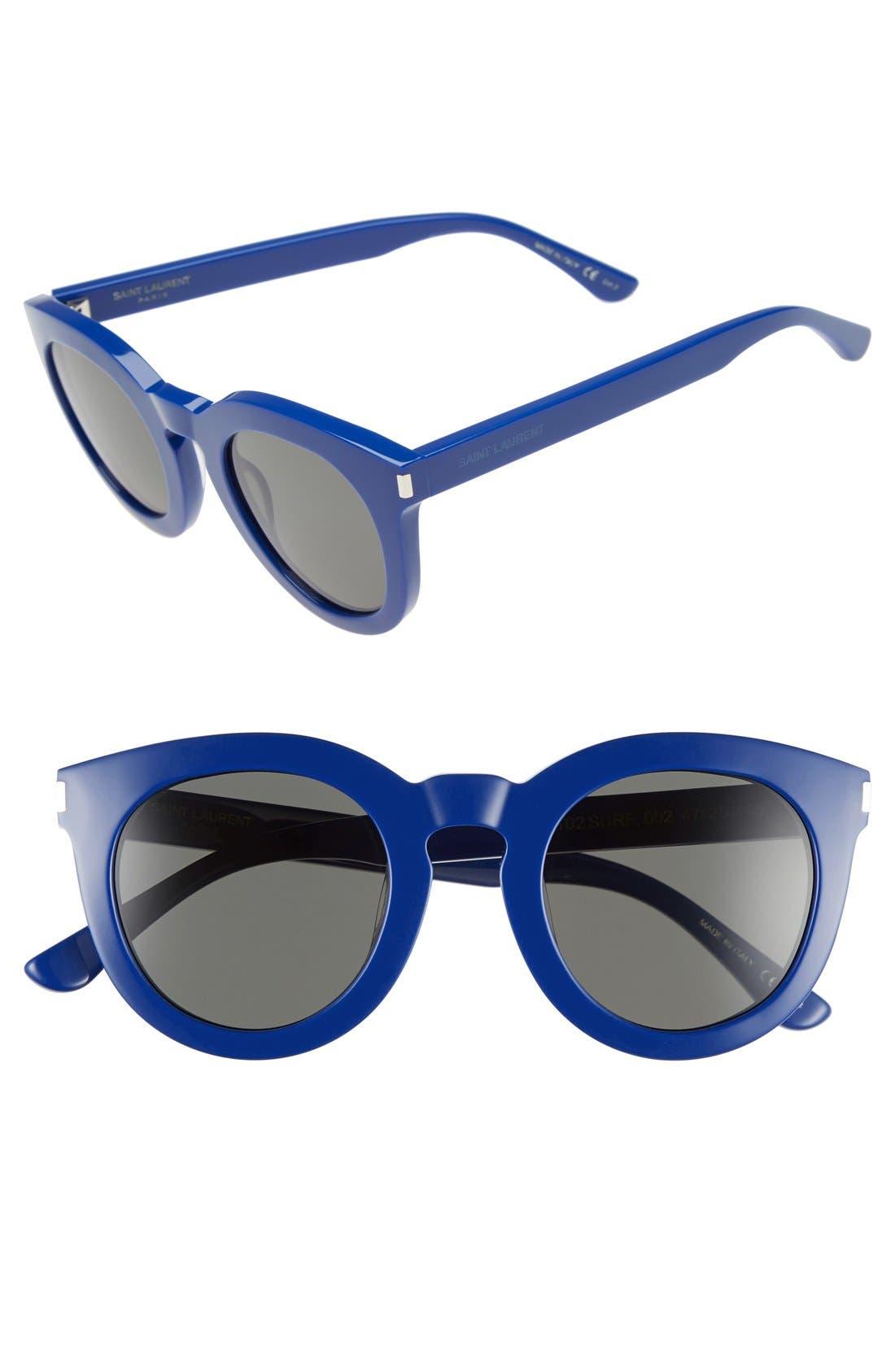 '102 Surf' 47mm Retro Sunglasses,                             Main thumbnail 2, color,