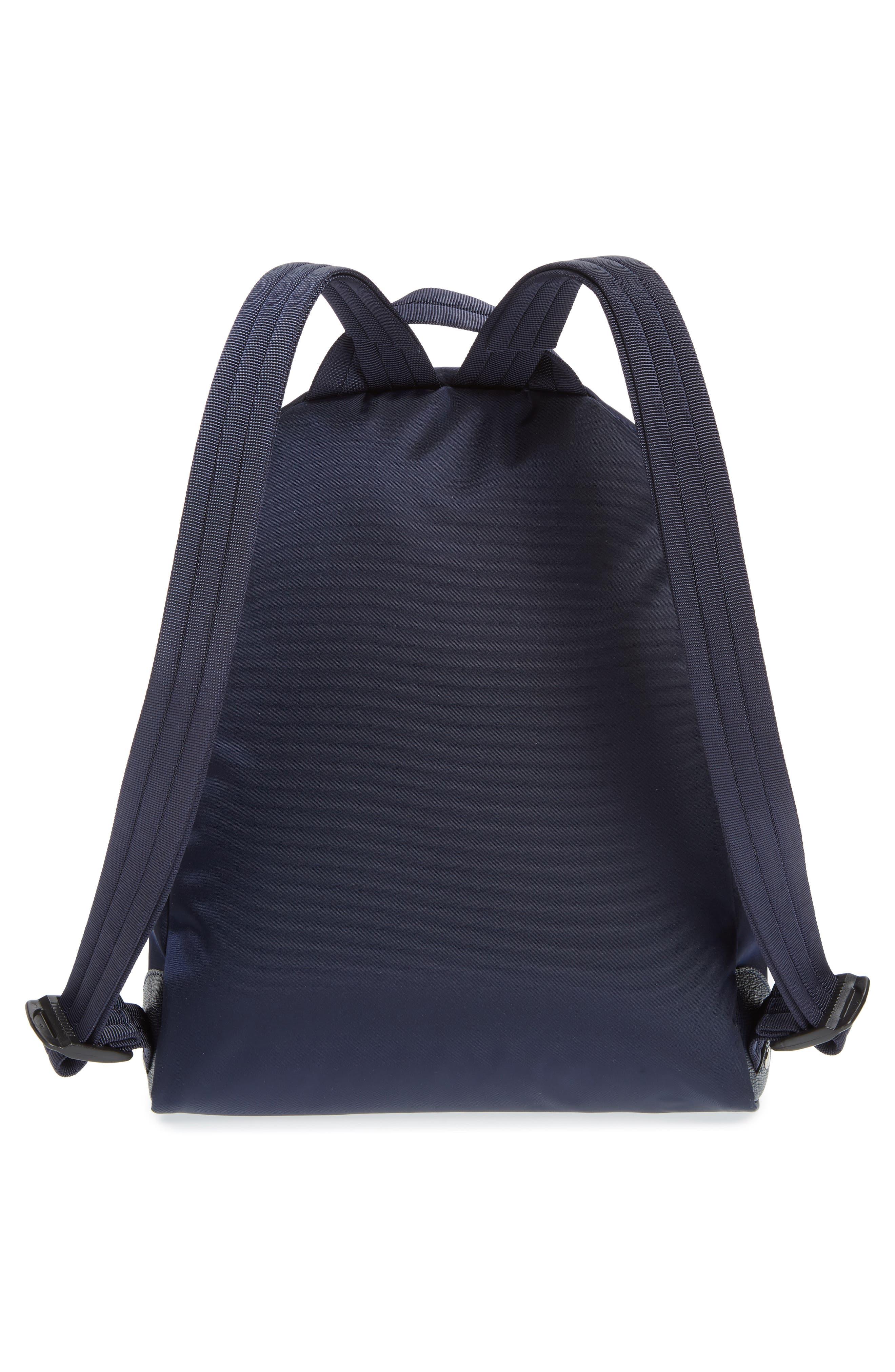 'Small Le Pliage Neo' Nylon Backpack,                             Alternate thumbnail 3, color,                             NAVY BLUE