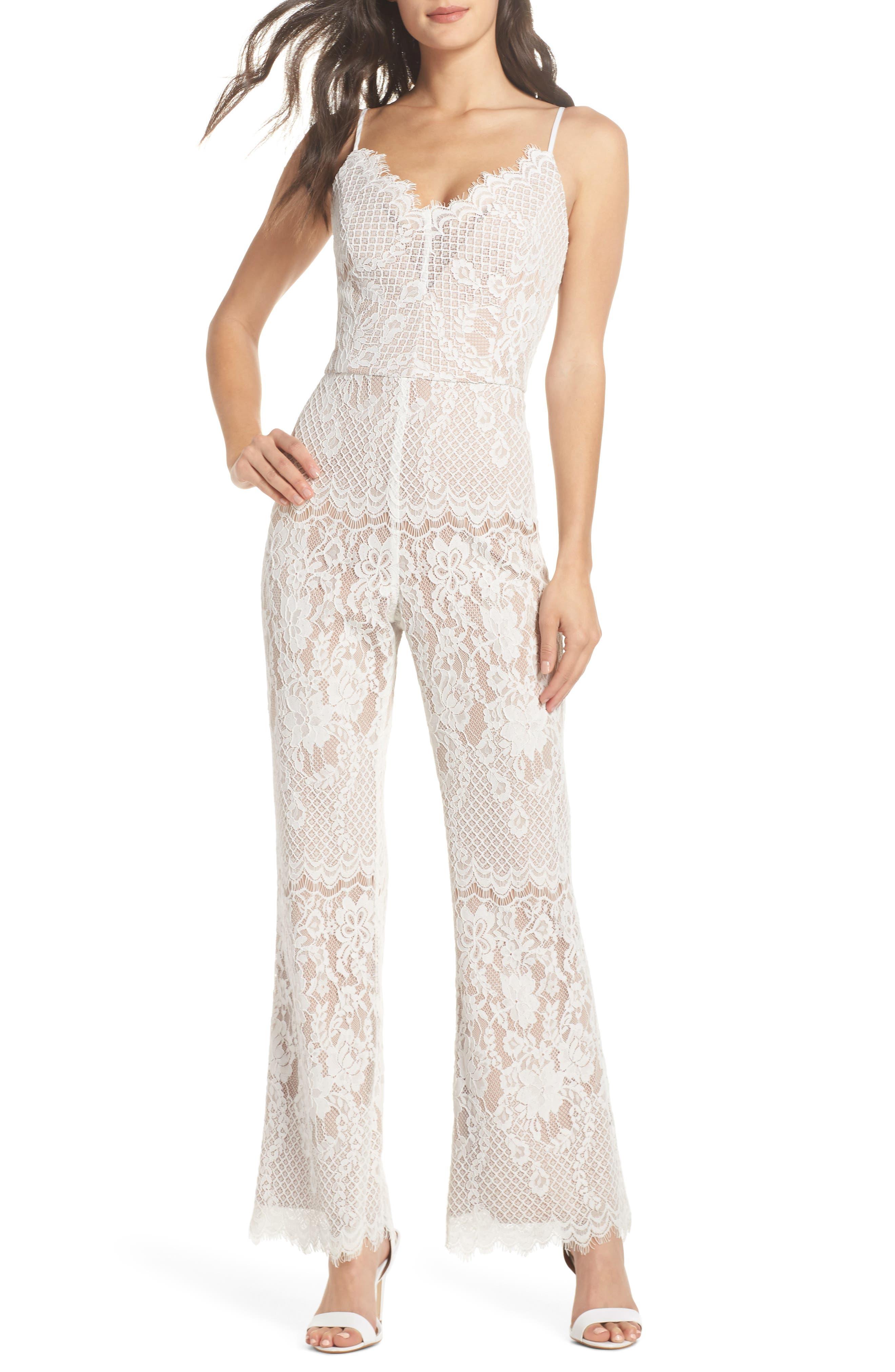 Lace Jumpsuit, Main, color, 169