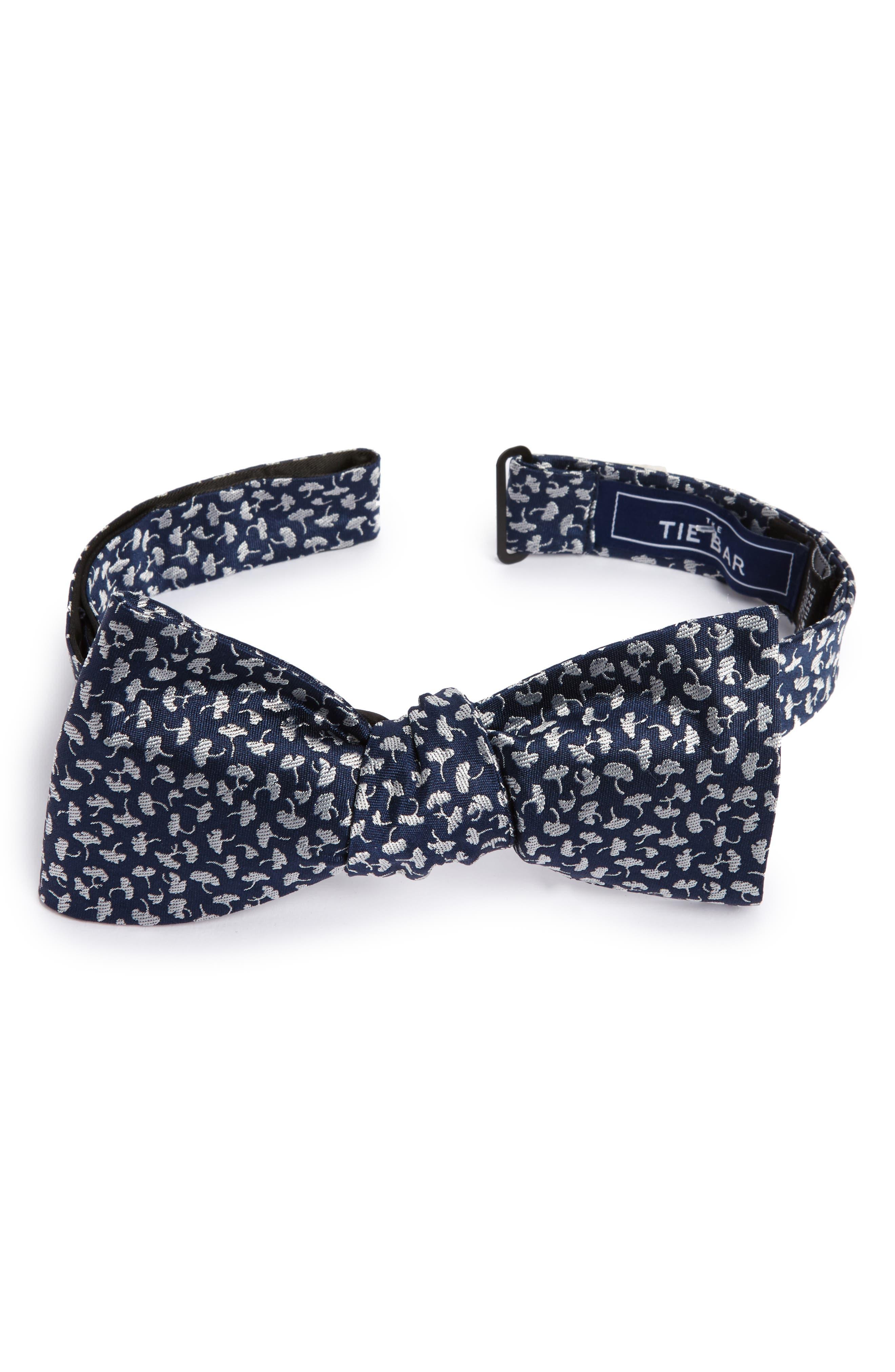 True Floral Silk Bow Tie,                             Main thumbnail 1, color,                             410