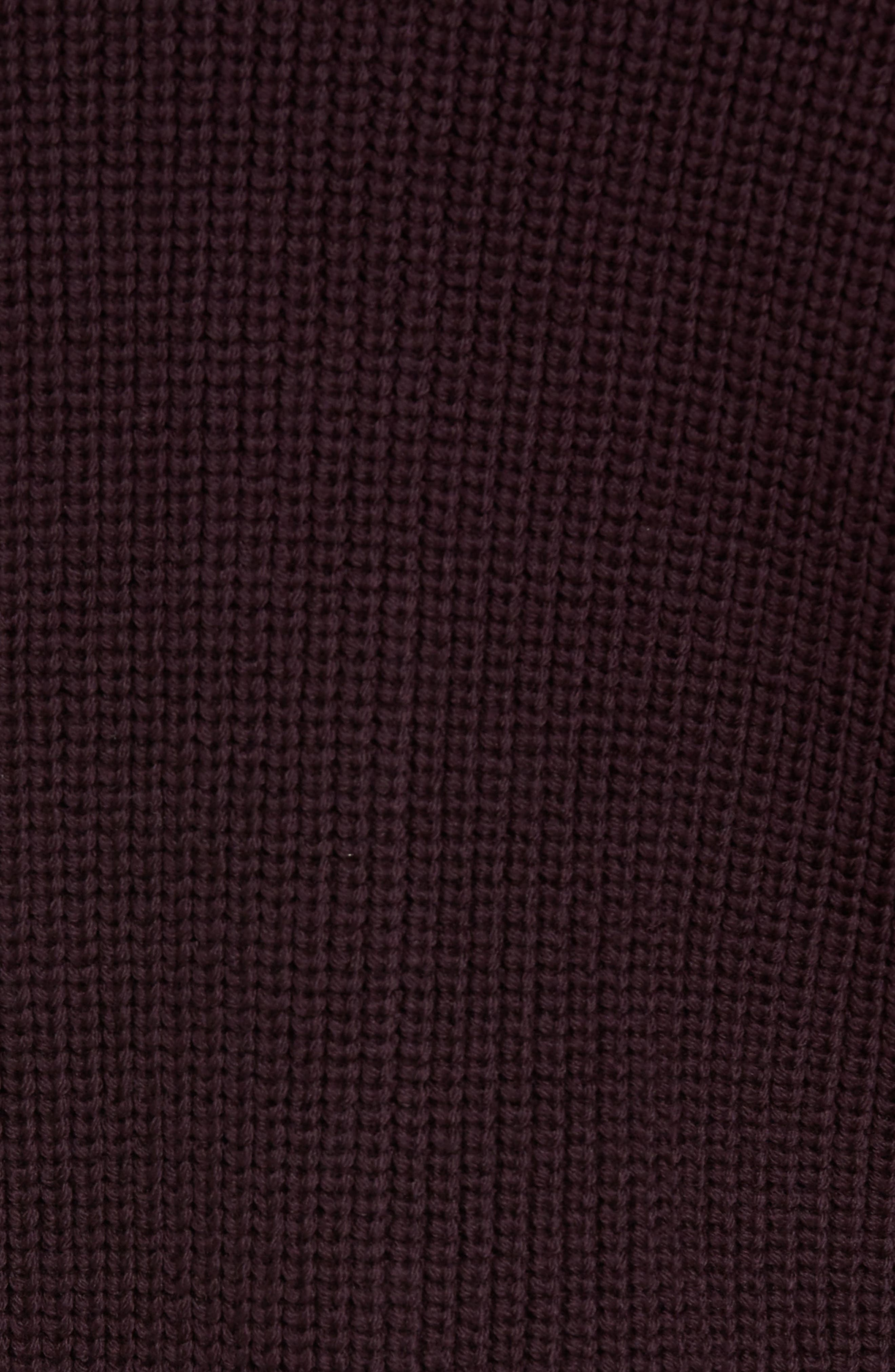 Ribbed Hooded Sweater,                             Alternate thumbnail 5, color,                             930