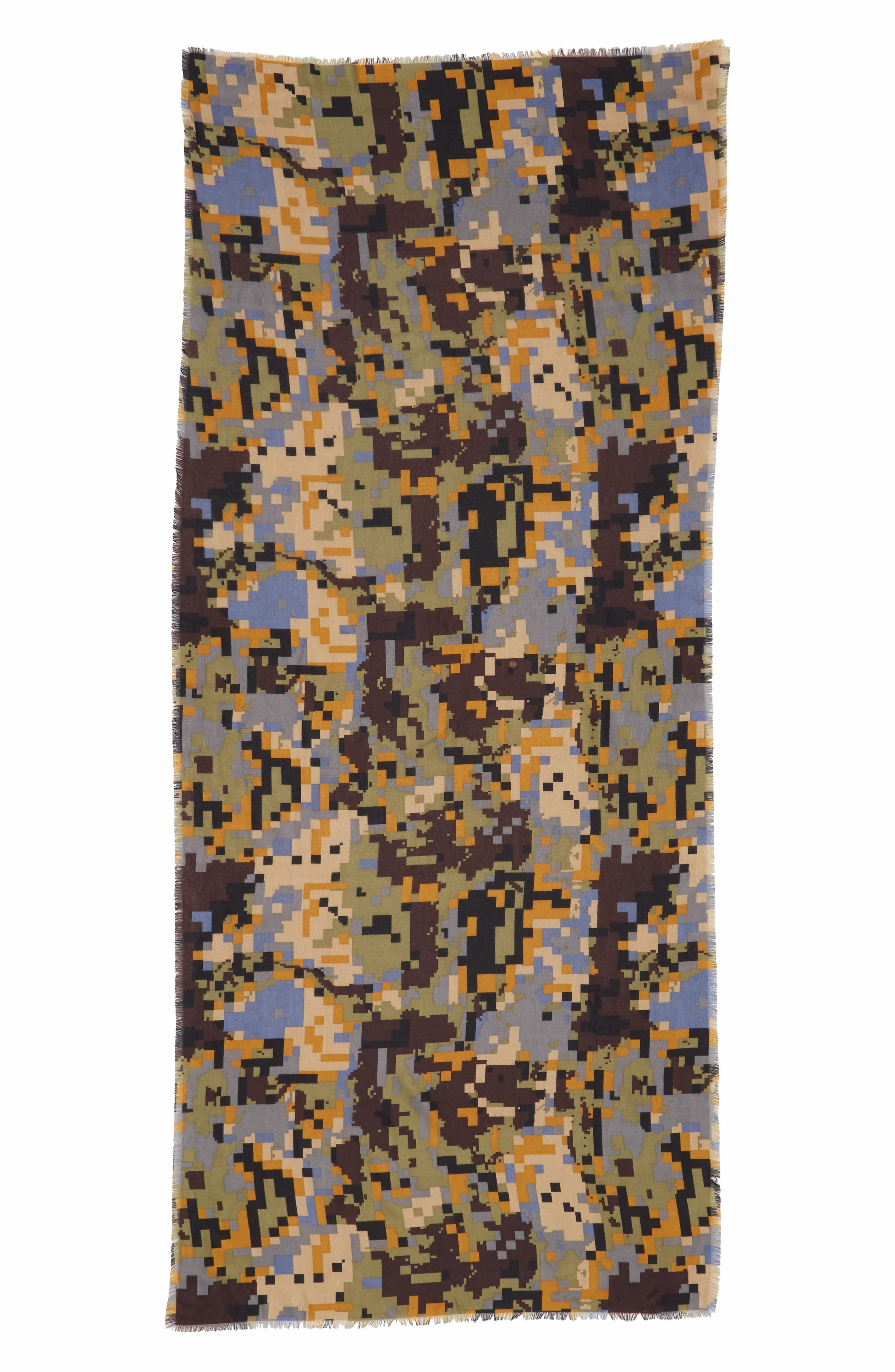 Pixelated Camo Scarf,                             Alternate thumbnail 2, color,                             300