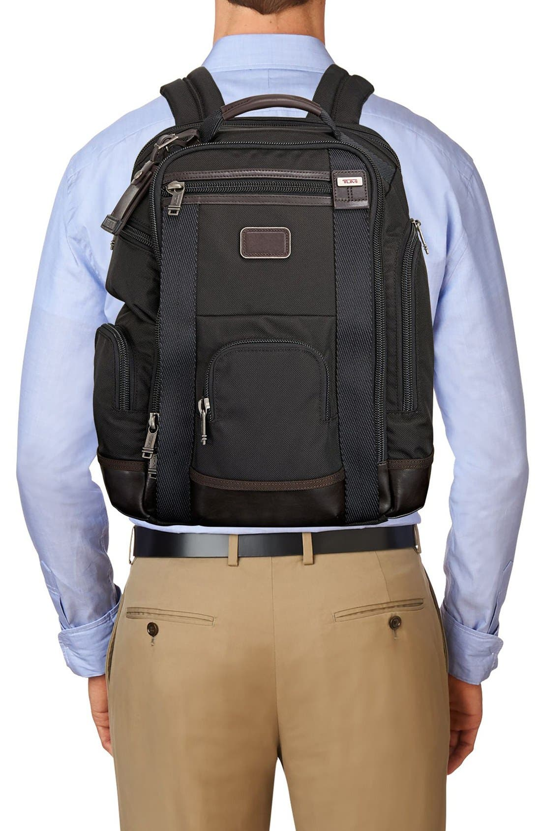 Alpha Bravo Shaw Deluxe Backpack,                             Alternate thumbnail 2, color,                             001