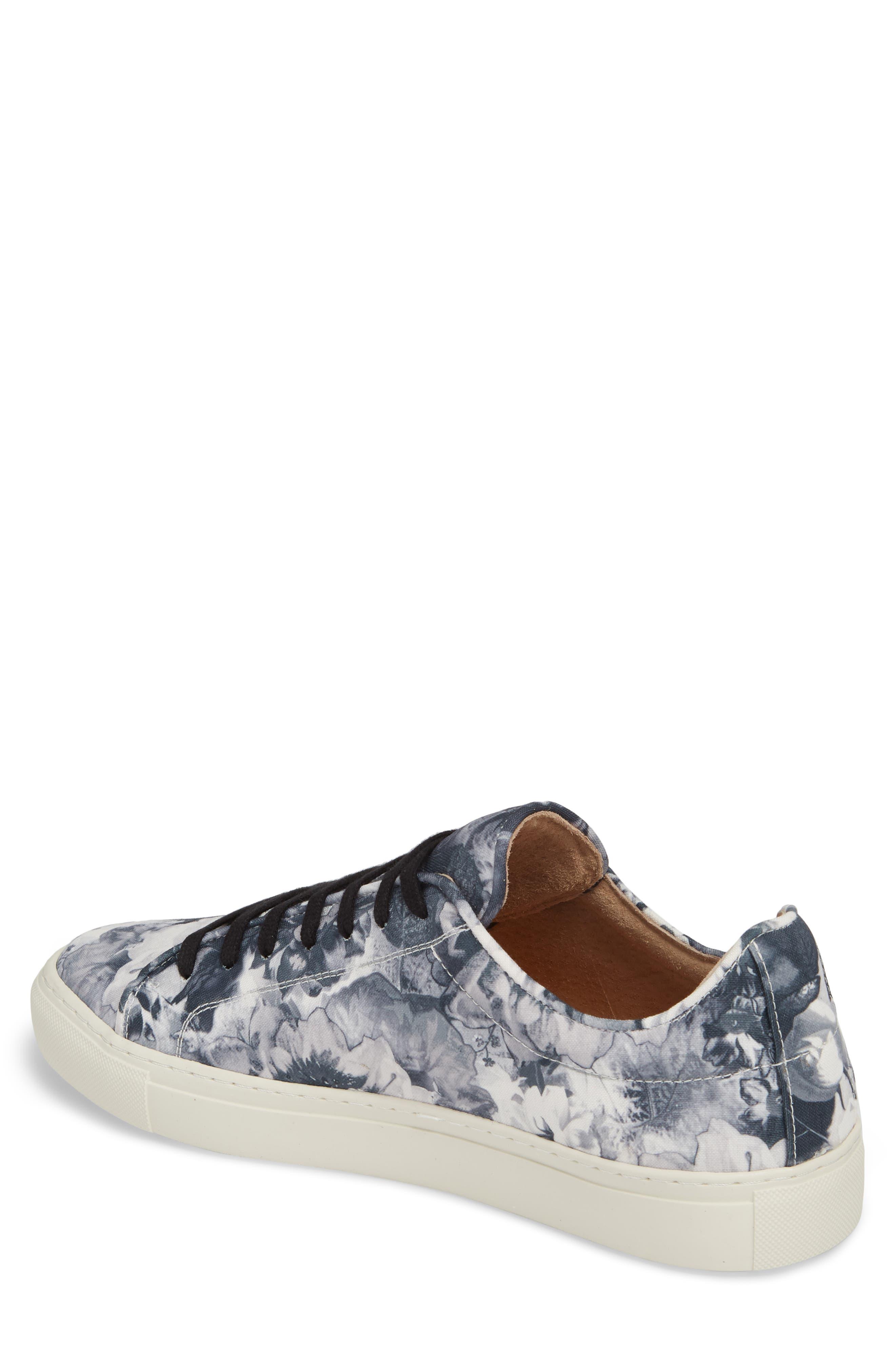 Mason Print Low Top Sneaker,                             Alternate thumbnail 2, color,                             005