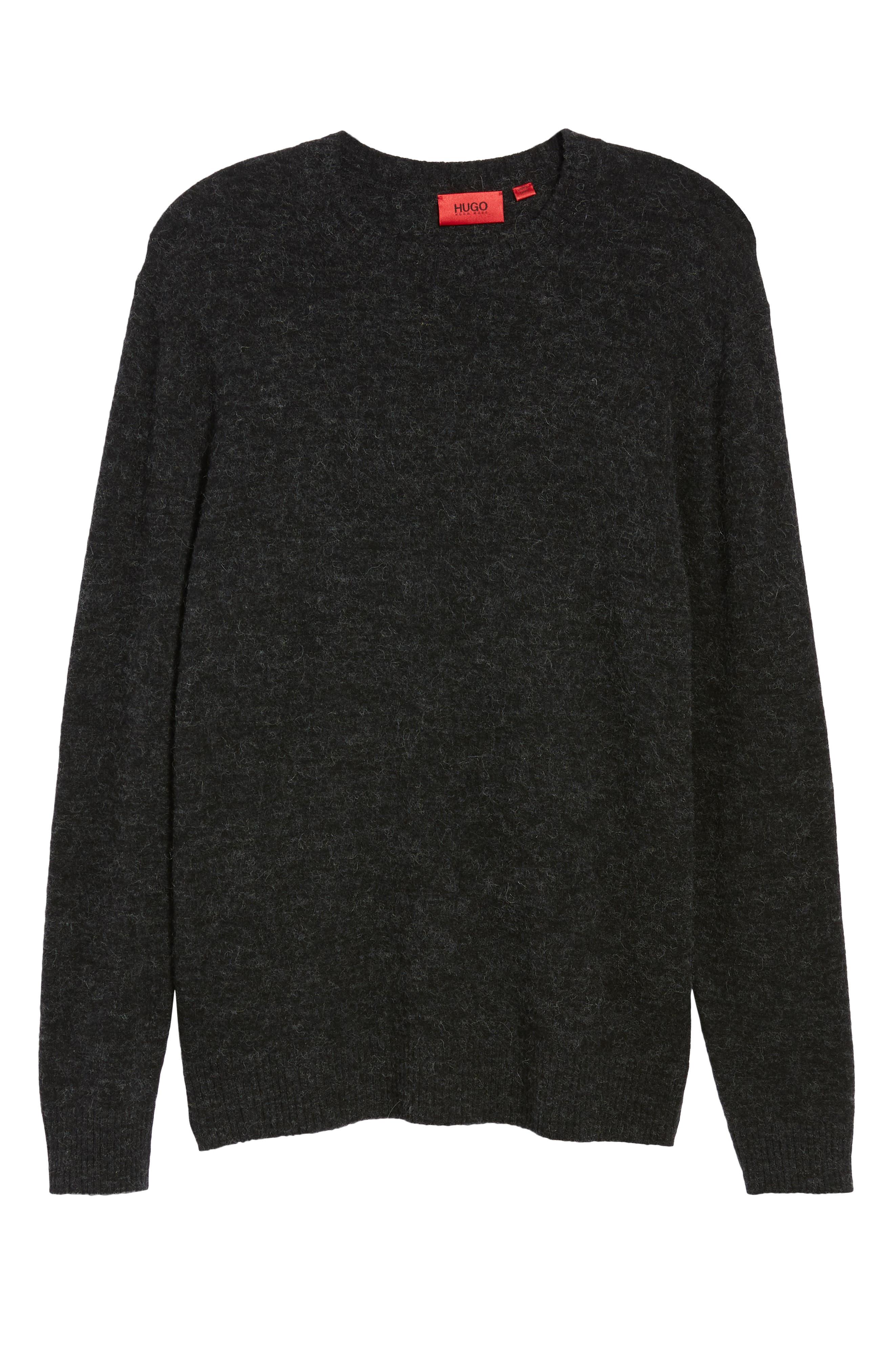 Seridon Oversize Crewneck Sweater,                             Alternate thumbnail 6, color,                             020