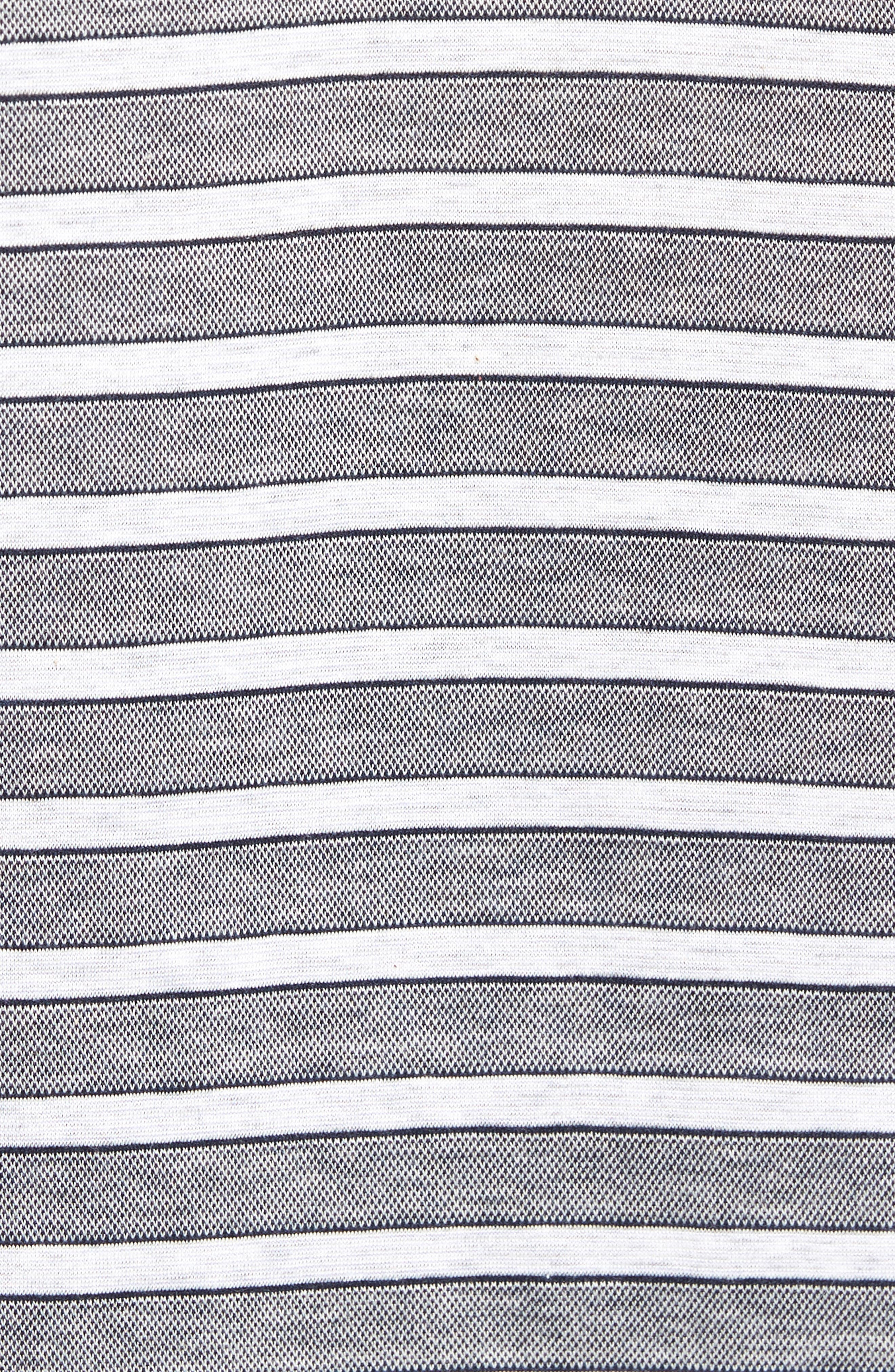 Breene Jacquard Stripe Polo,                             Alternate thumbnail 5, color,                             400
