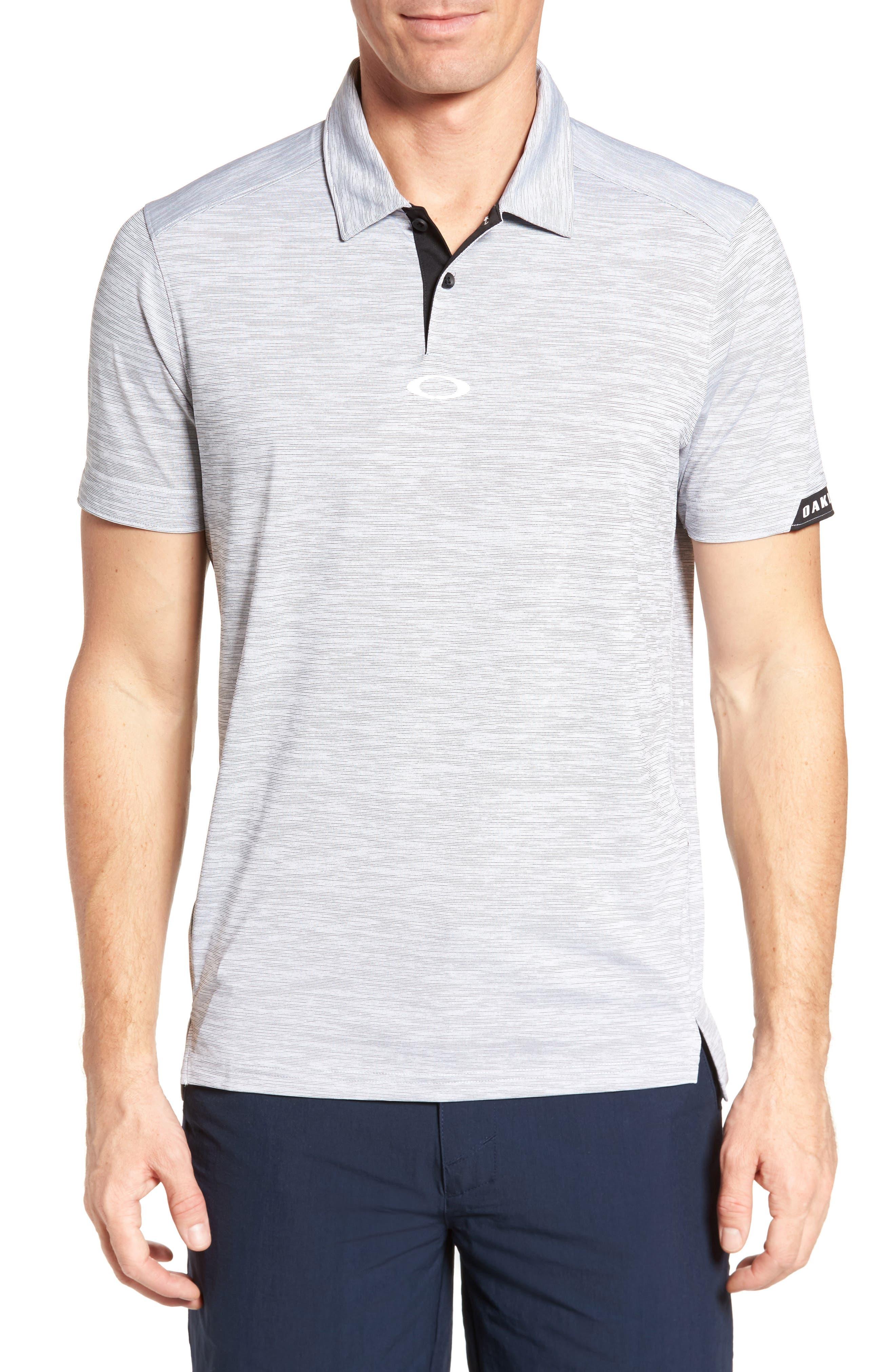 Oakley Gravity Polo Shirt, Black