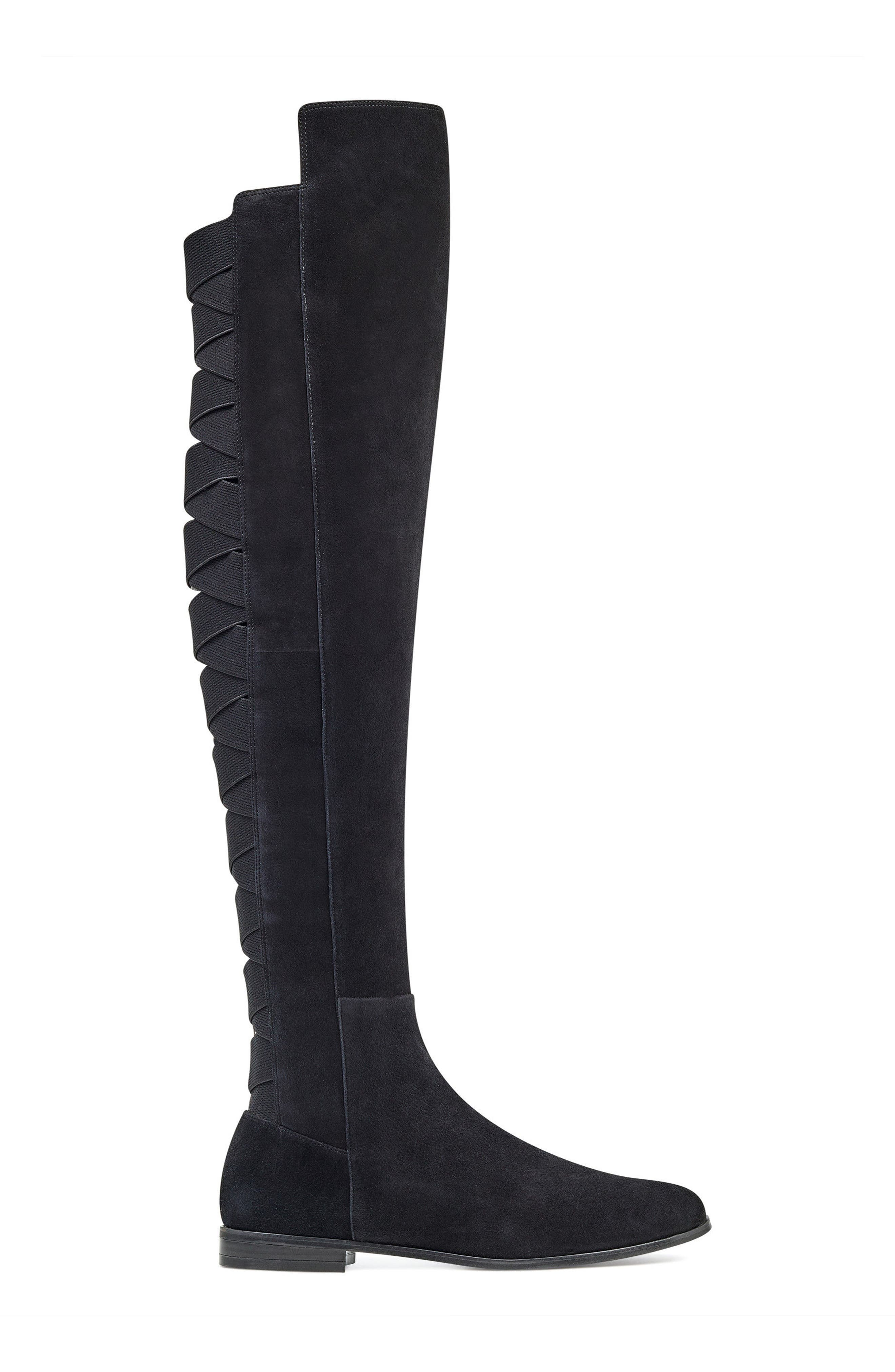 NINE WEST,                             Eltynn Over the Knee Boot,                             Alternate thumbnail 3, color,                             001