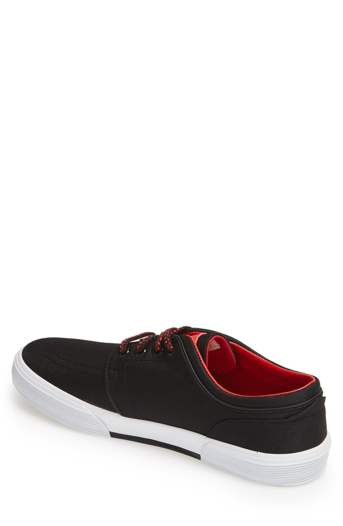'Faxon Low' Sneaker,                             Alternate thumbnail 2, color,                             001