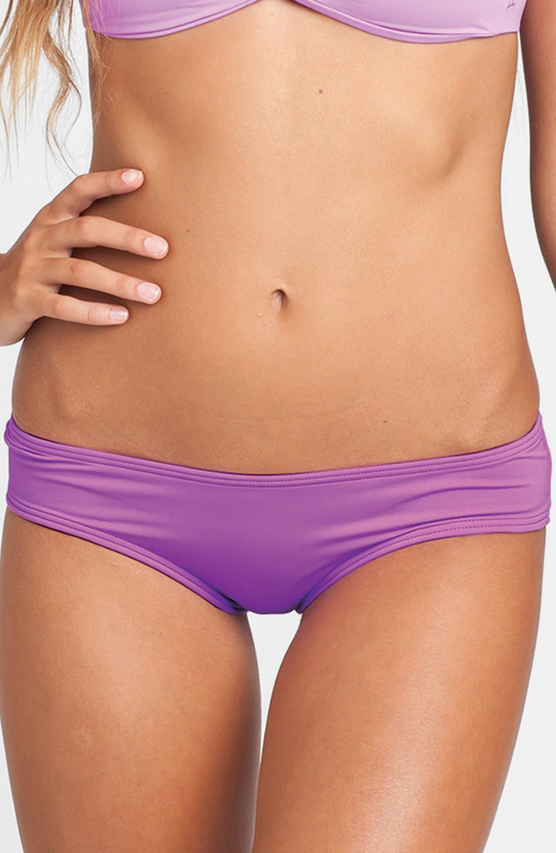 'Sol Searcher Hawaii' Cheeky Bikini Bottoms,                             Main thumbnail 5, color,