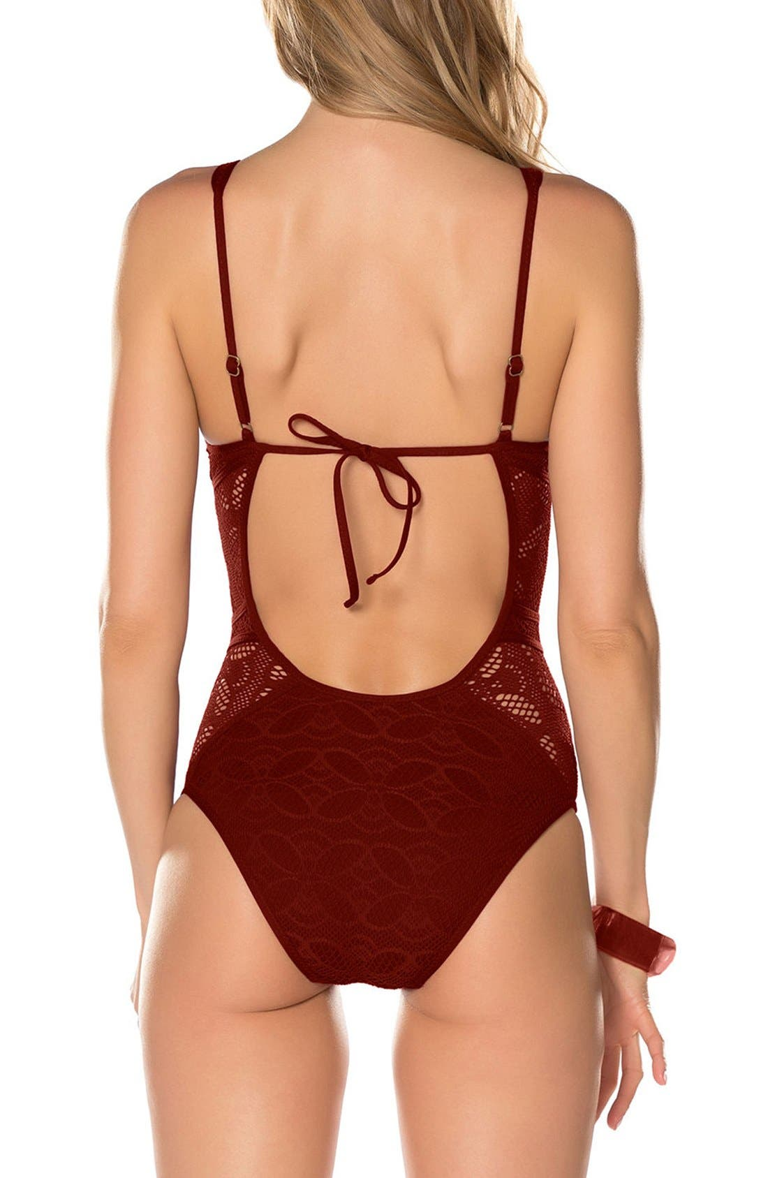 Color Play One-Piece Swimsuit,                             Alternate thumbnail 10, color,