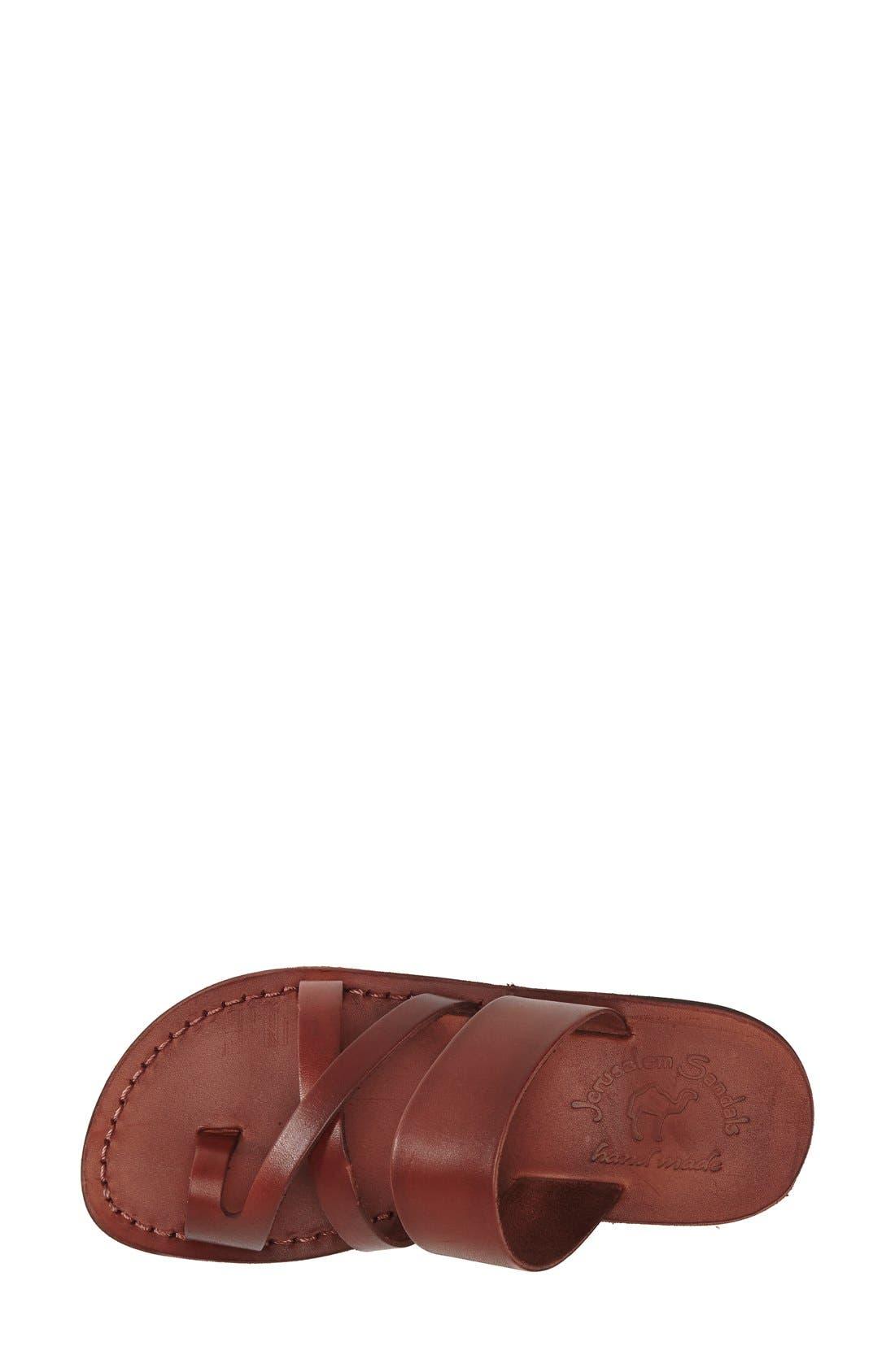 'The Good Shepard' Leather Sandal,                             Alternate thumbnail 21, color,