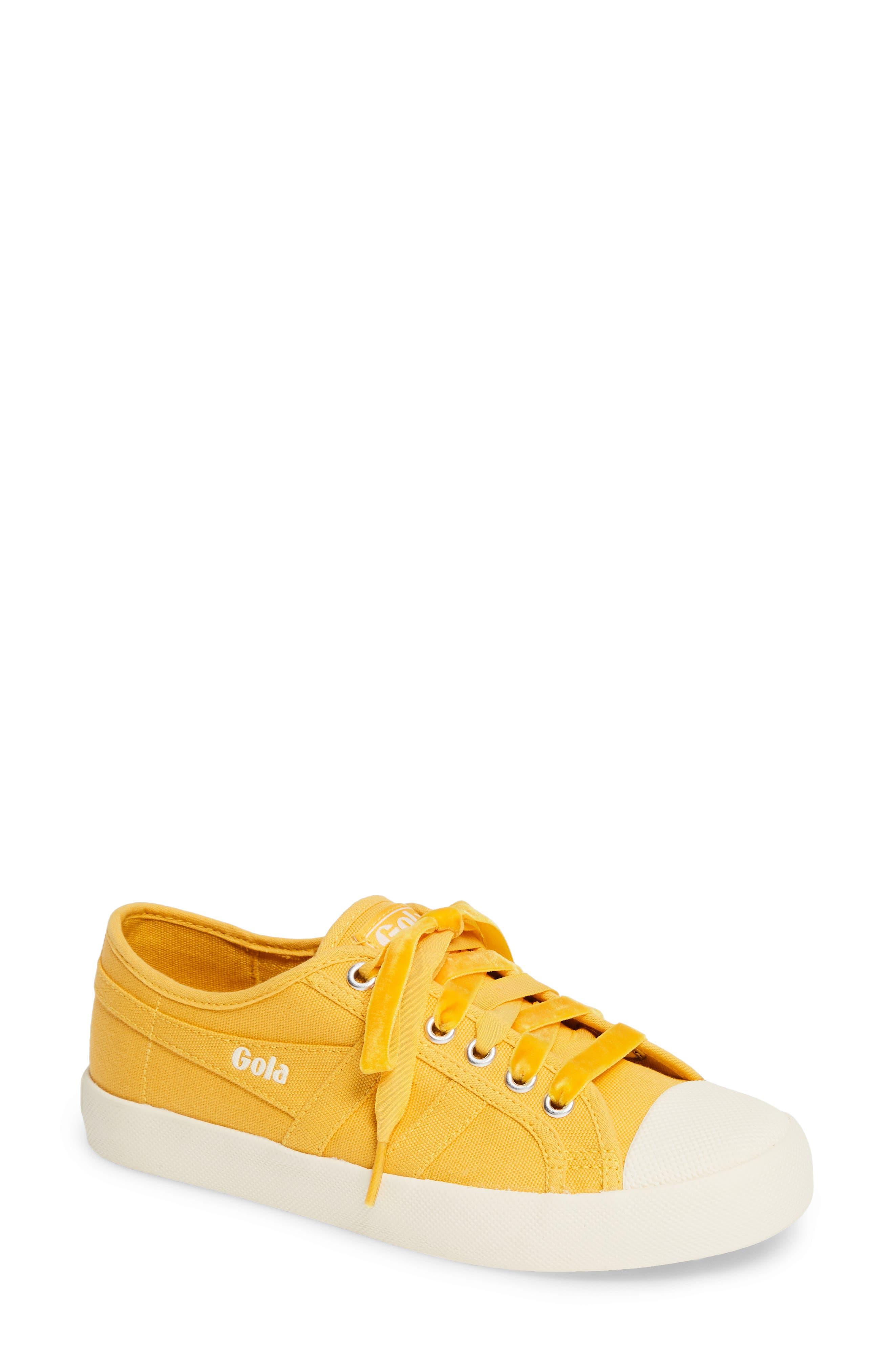 Coaster Sneaker,                         Main,                         color, SUN/ OFF WHITE