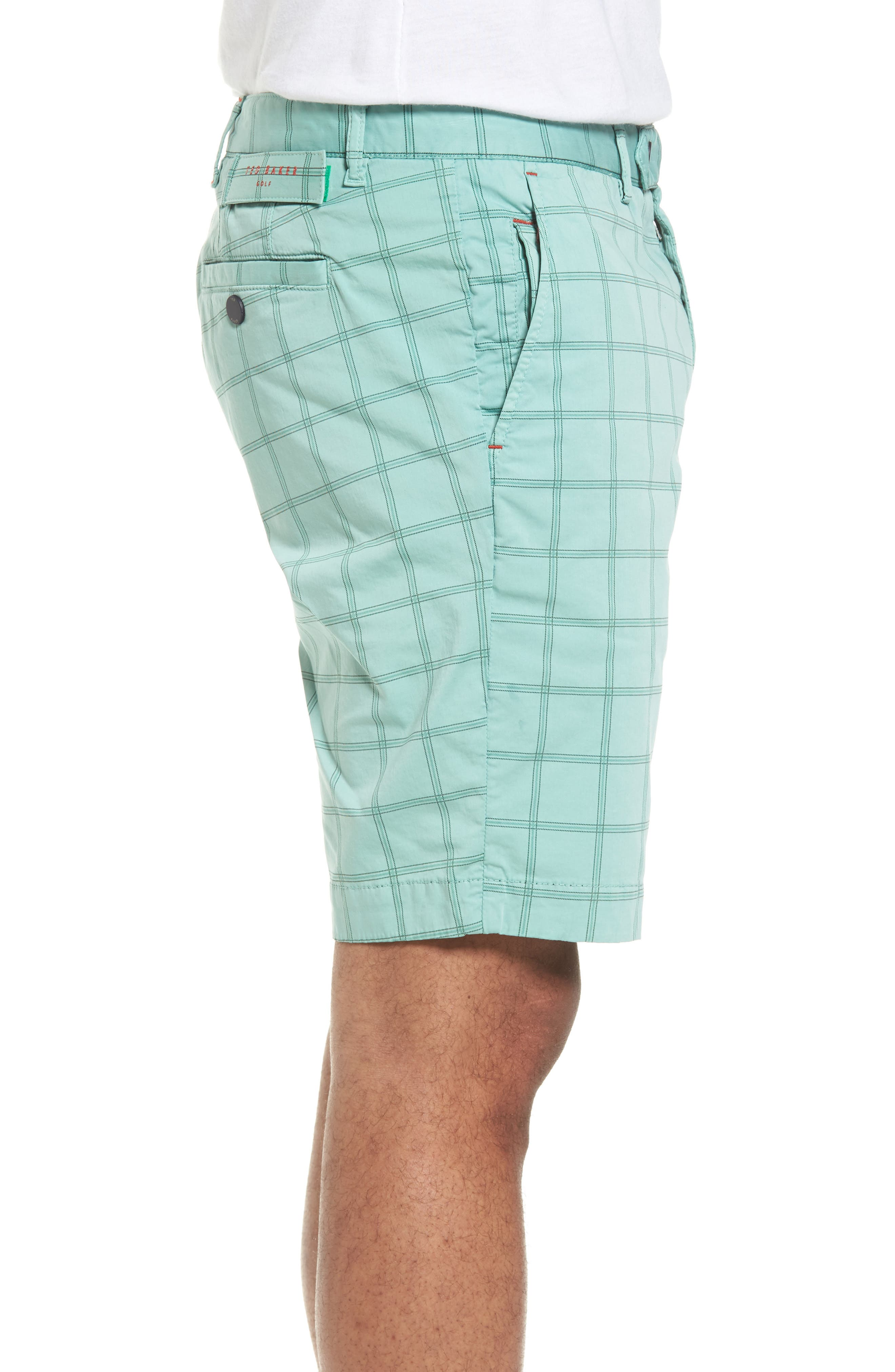 Golfshr Print Golf Shorts,                             Alternate thumbnail 7, color,