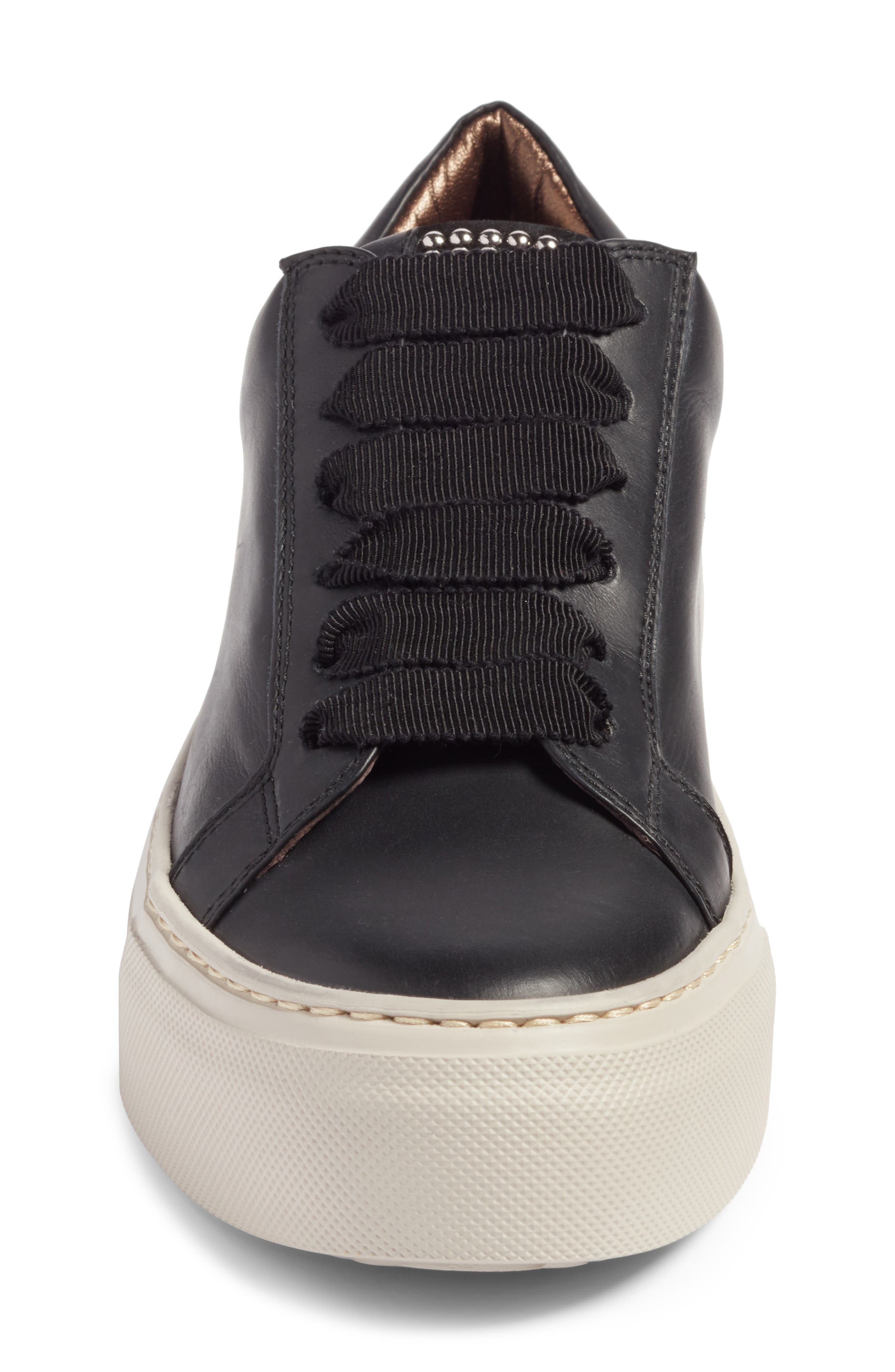 Pearl Sneaker,                             Alternate thumbnail 4, color,                             BLACK