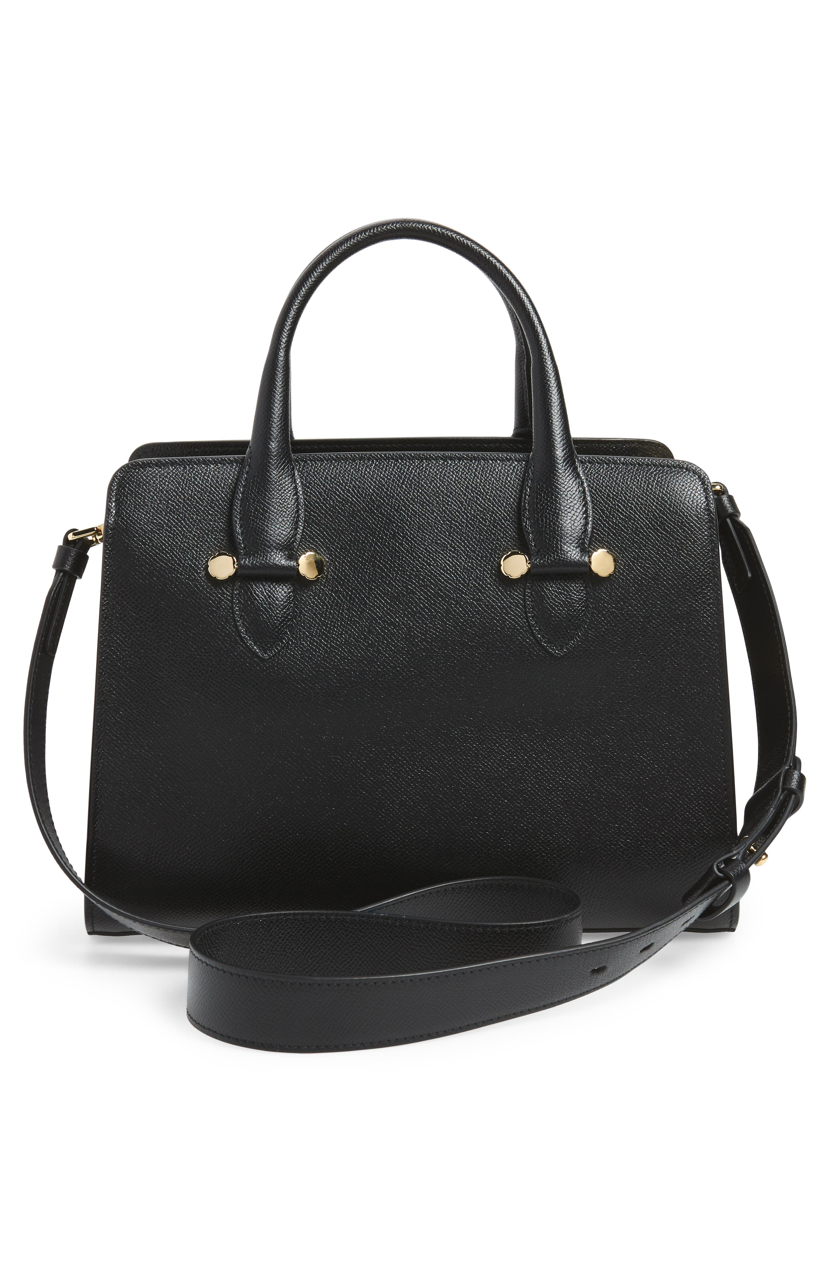 Small Today Satchel,                             Alternate thumbnail 3, color,                             NERO
