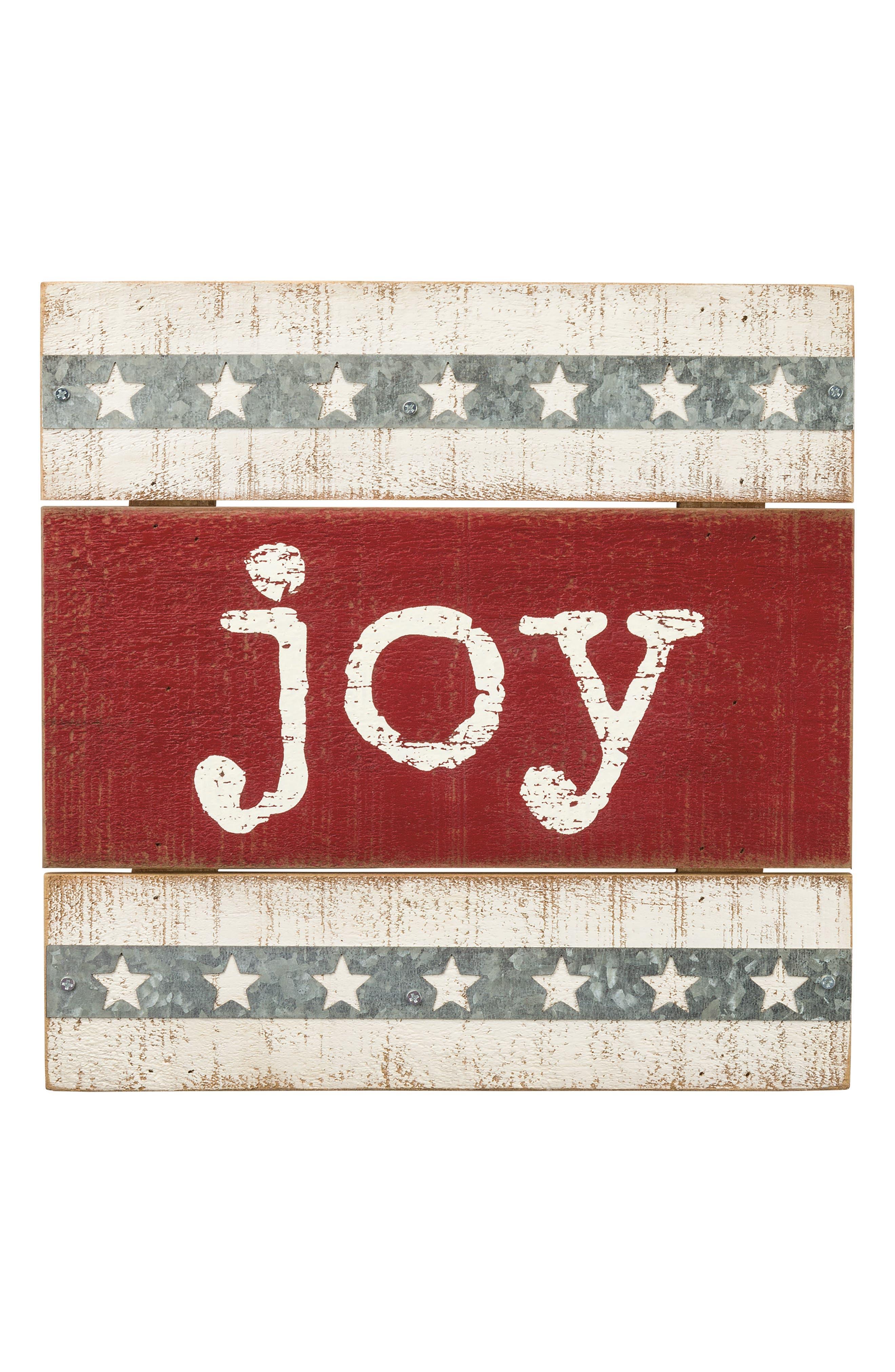 Joy Box Sign,                             Main thumbnail 1, color,                             600