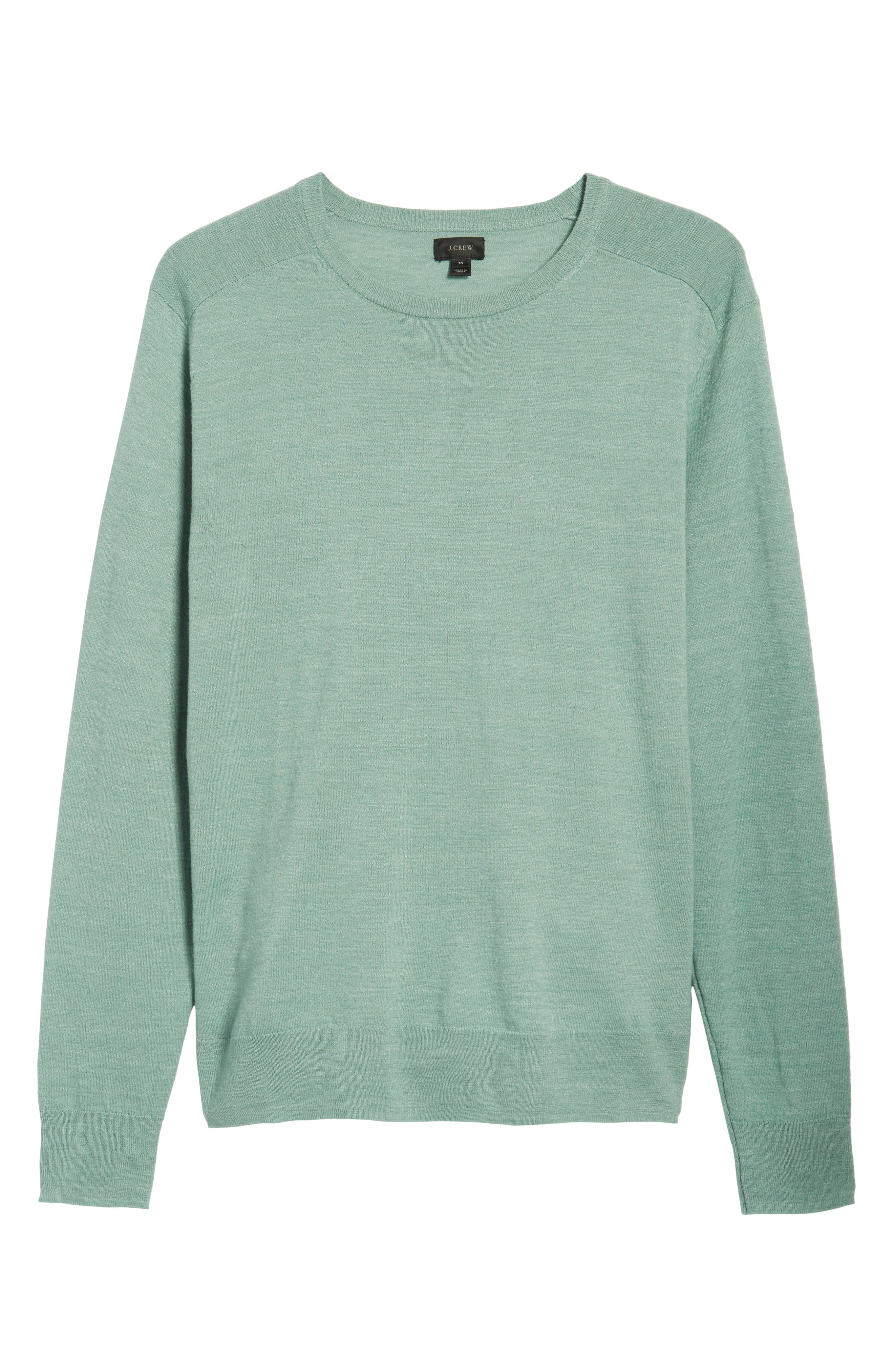 Cotton Blend Crewneck Sweater,                             Alternate thumbnail 22, color,