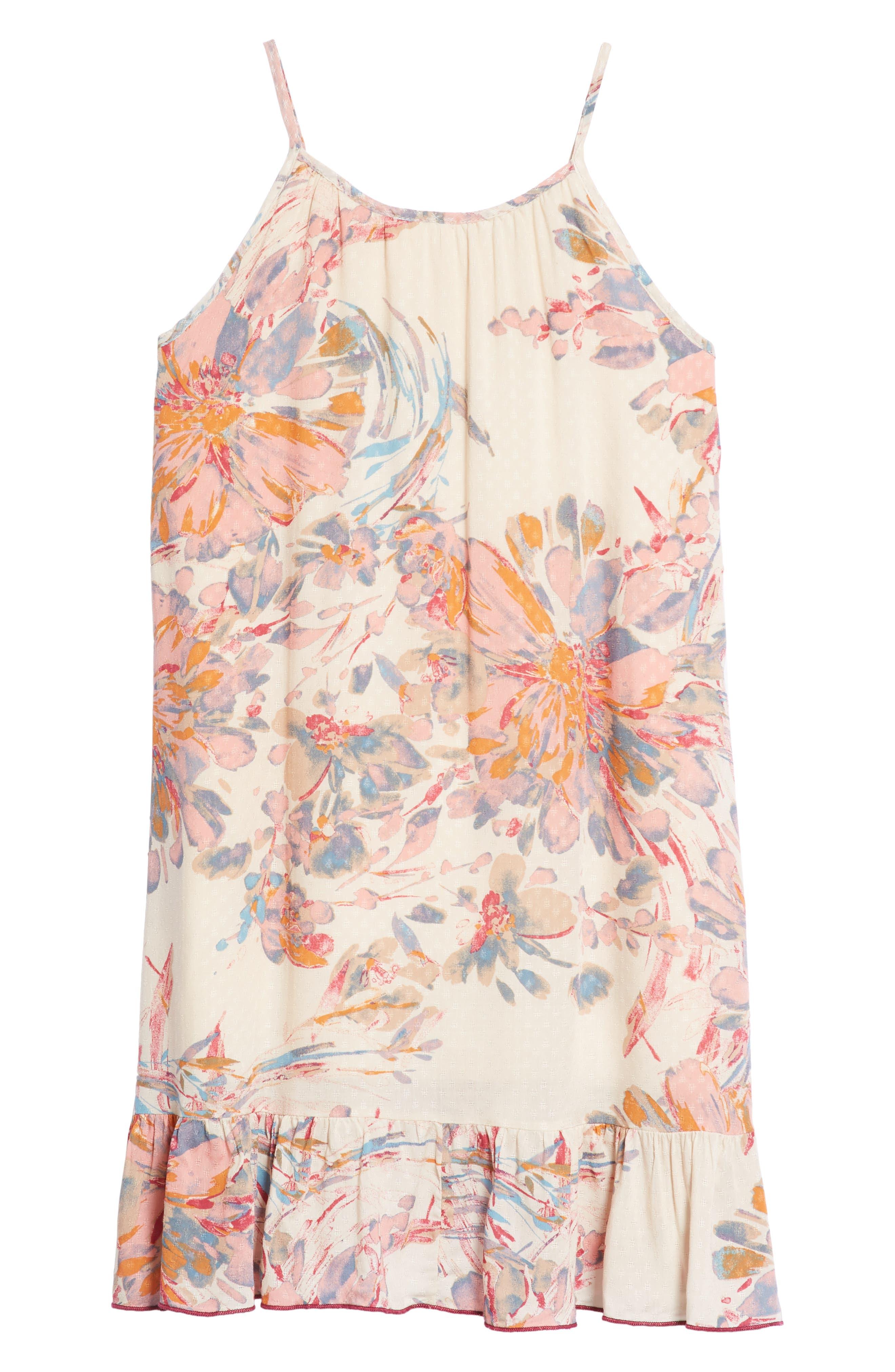 PPLA,                             Zinnia Floral Ruffle Sundress,                             Alternate thumbnail 2, color,                             950